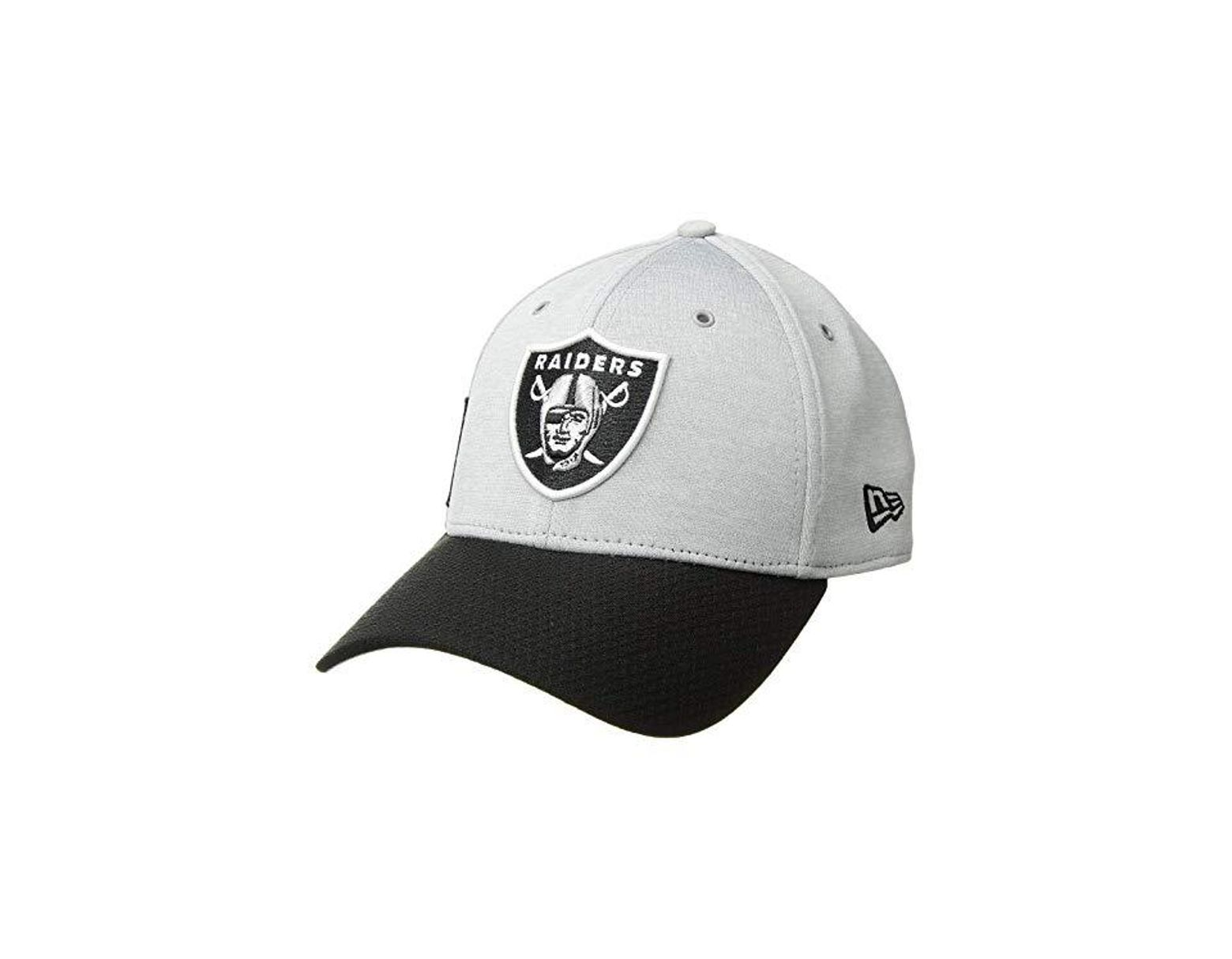 03725727 KTZ. Men's Gray 39thirty Official Sideline Home Stretch Fit - Oakland  Raiders ...