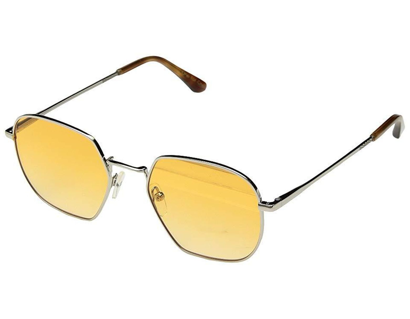 a3aa5af8cfe5 TOMS Sawyer (shiny Silver) Fashion Sunglasses in Metallic - Save 39% - Lyst