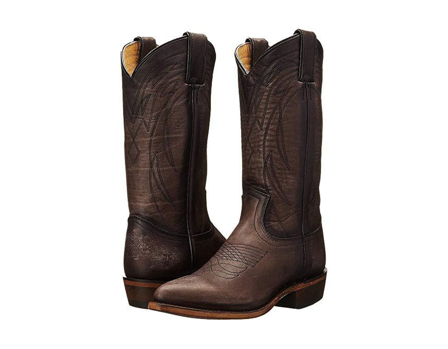 c720431dadf Frye Billy Pull On (smoke Washed Oiled Vintage) Cowboy Boots in ...