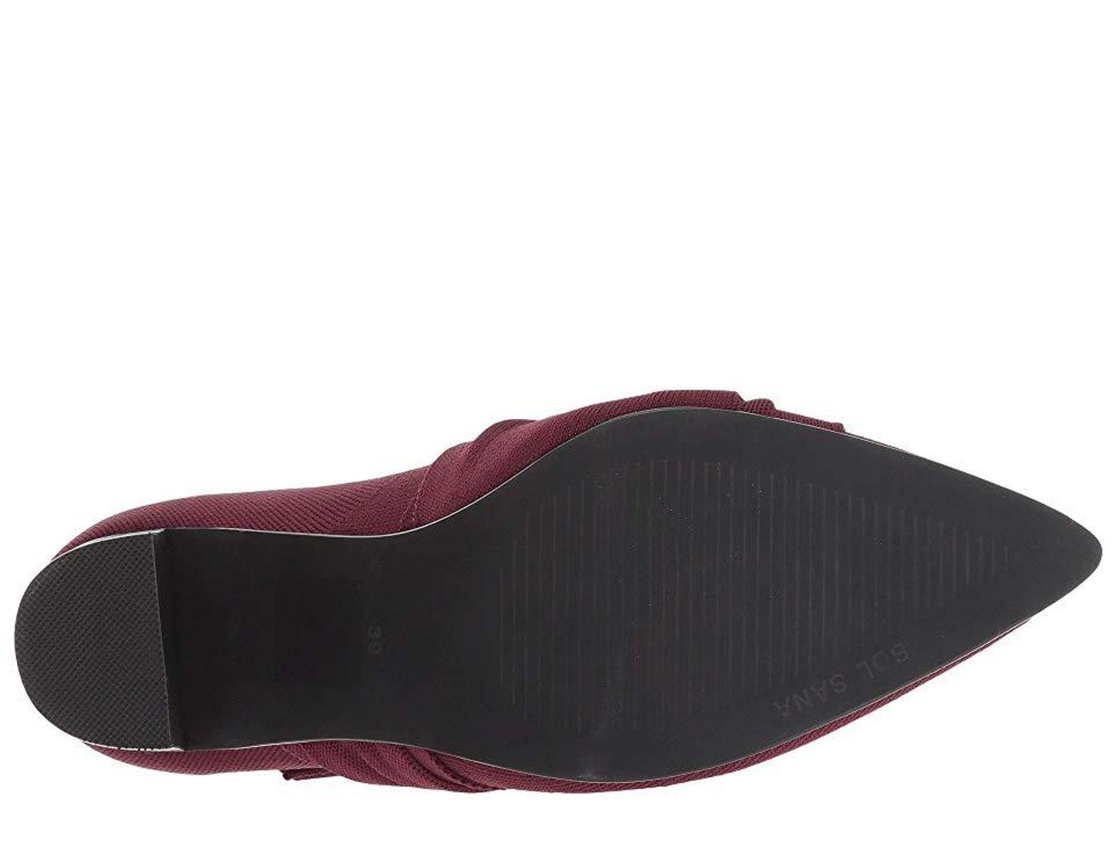 84f251e0 Sol Sana Liana Boot (burgundy) Boots in Purple - Save 34% - Lyst