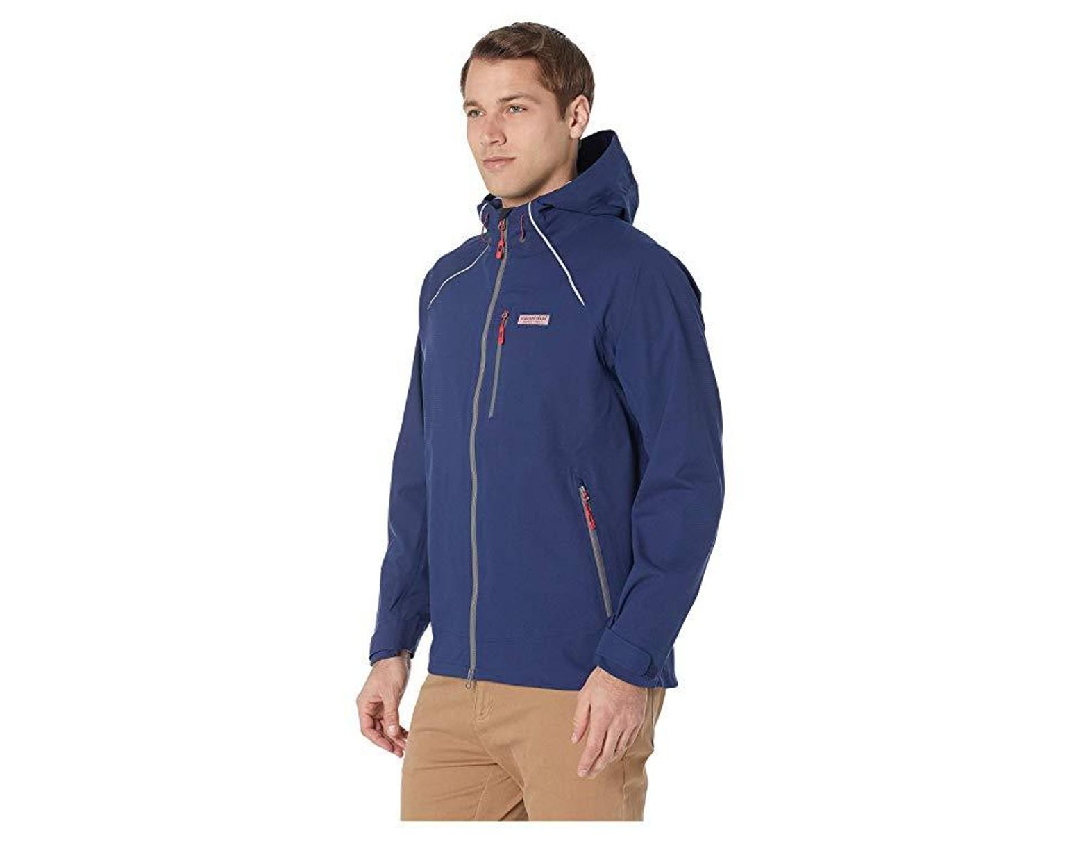 6d5c64657cdc7 Vineyard Vines The New Nor'easter Jacket (deep Bay) Coat in Blue for Men -  Save 38% - Lyst