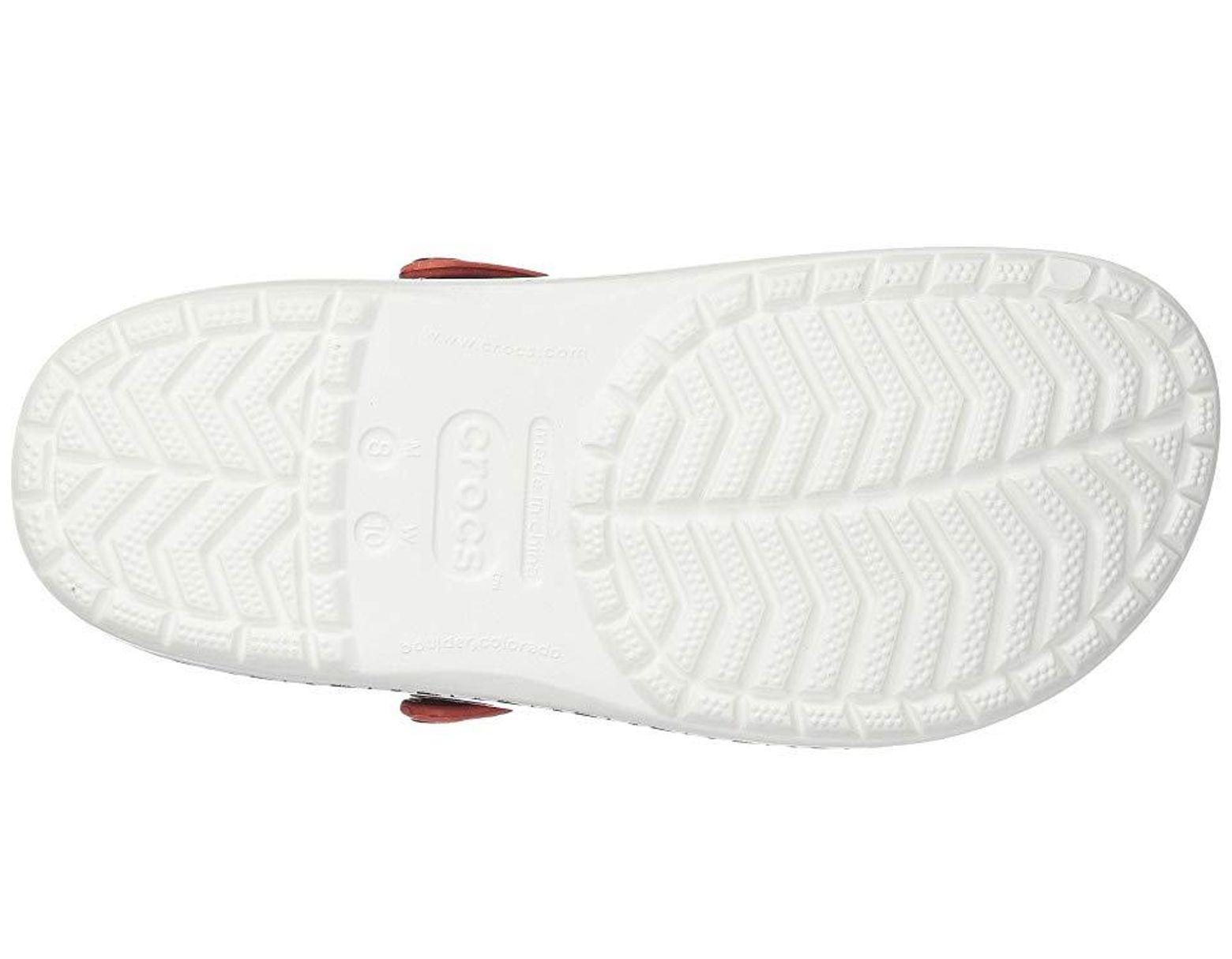 d03afca274016 Crocs™ Drew X Crocband Chevron Clog (black/white) Shoes in Black - Save 10%  - Lyst