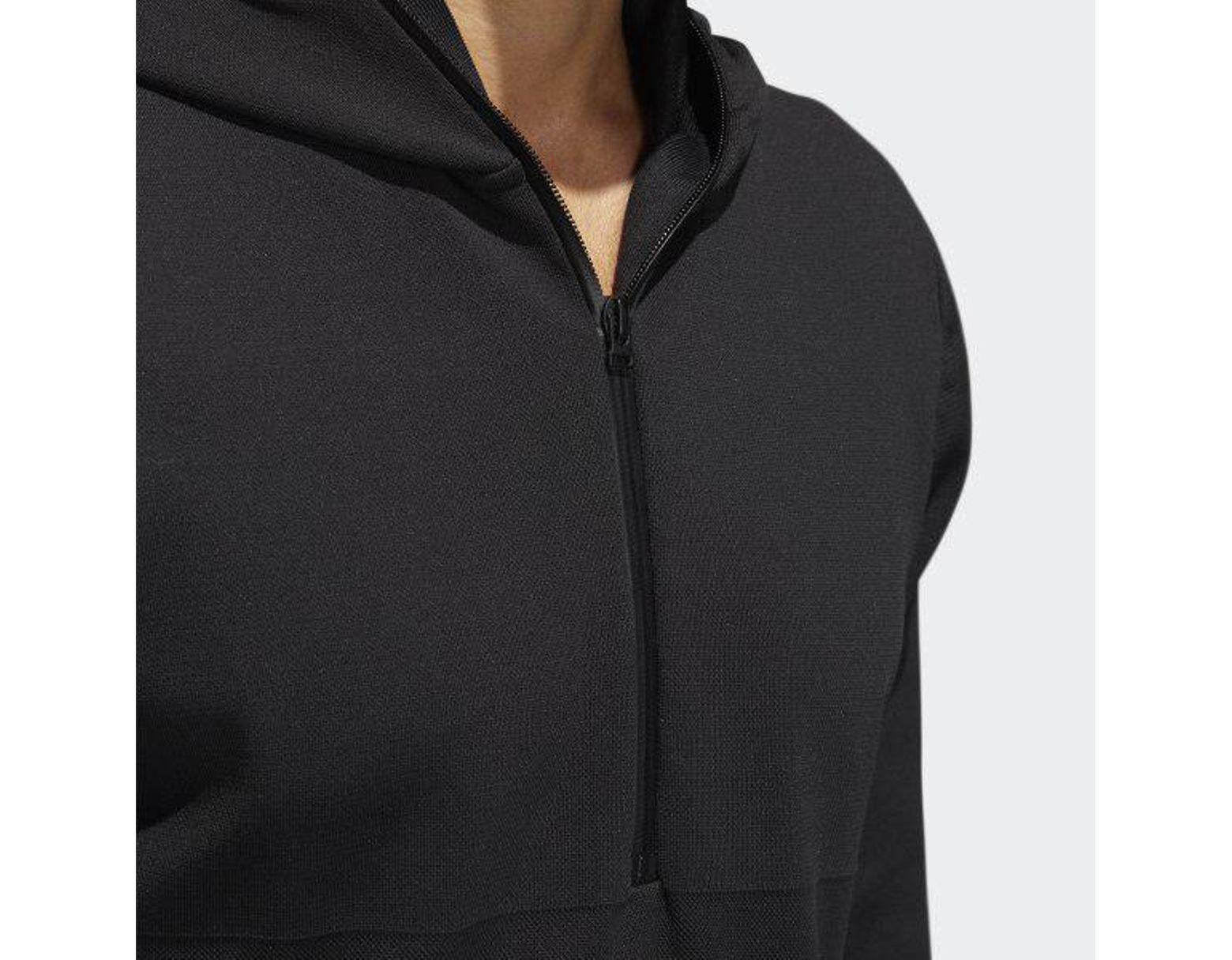 7a6ec25969 Men's Black Adicross Primeknit Parka Hooded Jacket