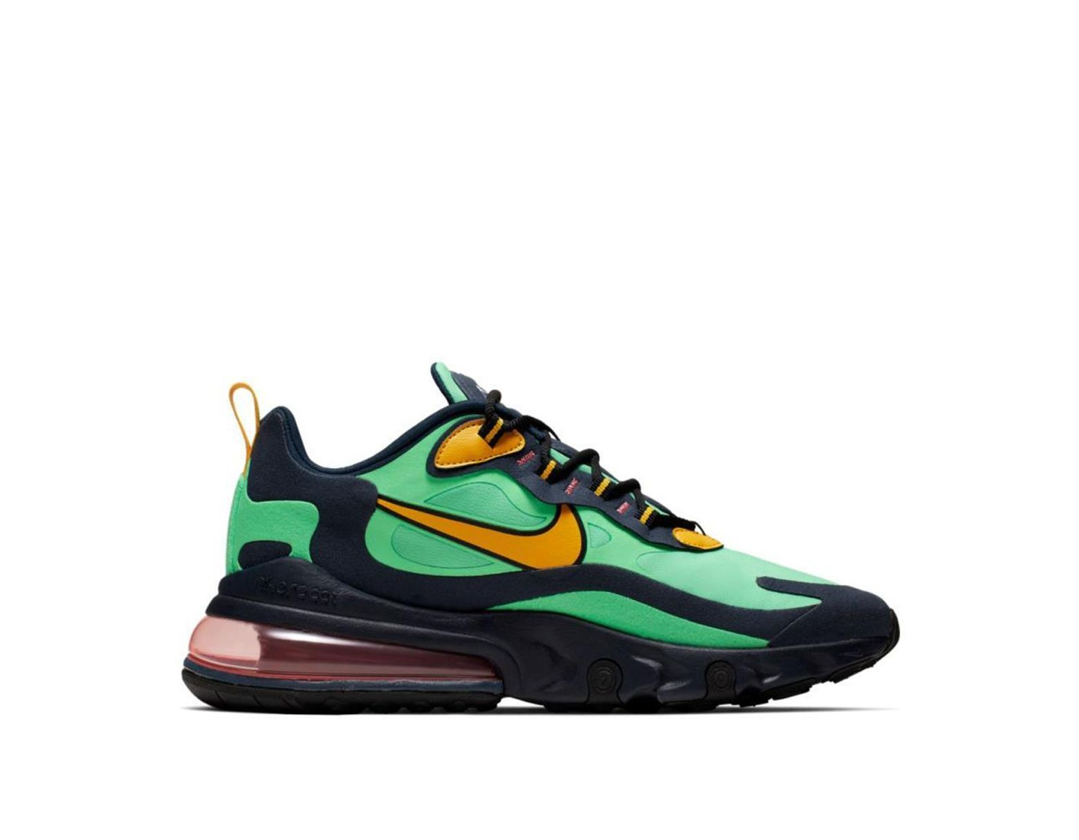 save off 98e65 54850 Men's Green Nike Air Max 270 React
