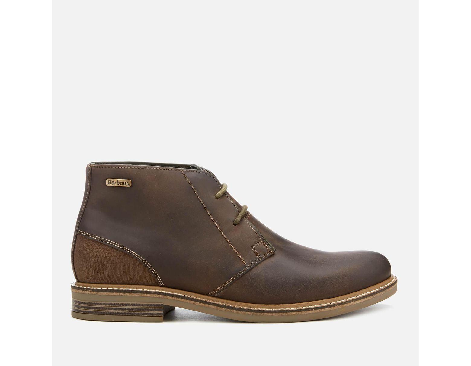 975b14aca51 Men's Brown Readhead Leather Chukka Boots