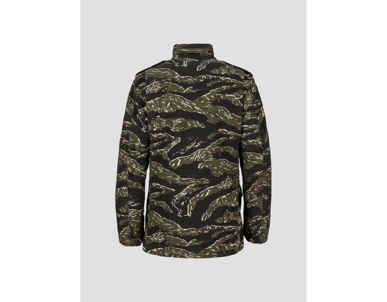4ad3847ce Men's Green Exclusive M-65 Defender Field Coat For Complexcon