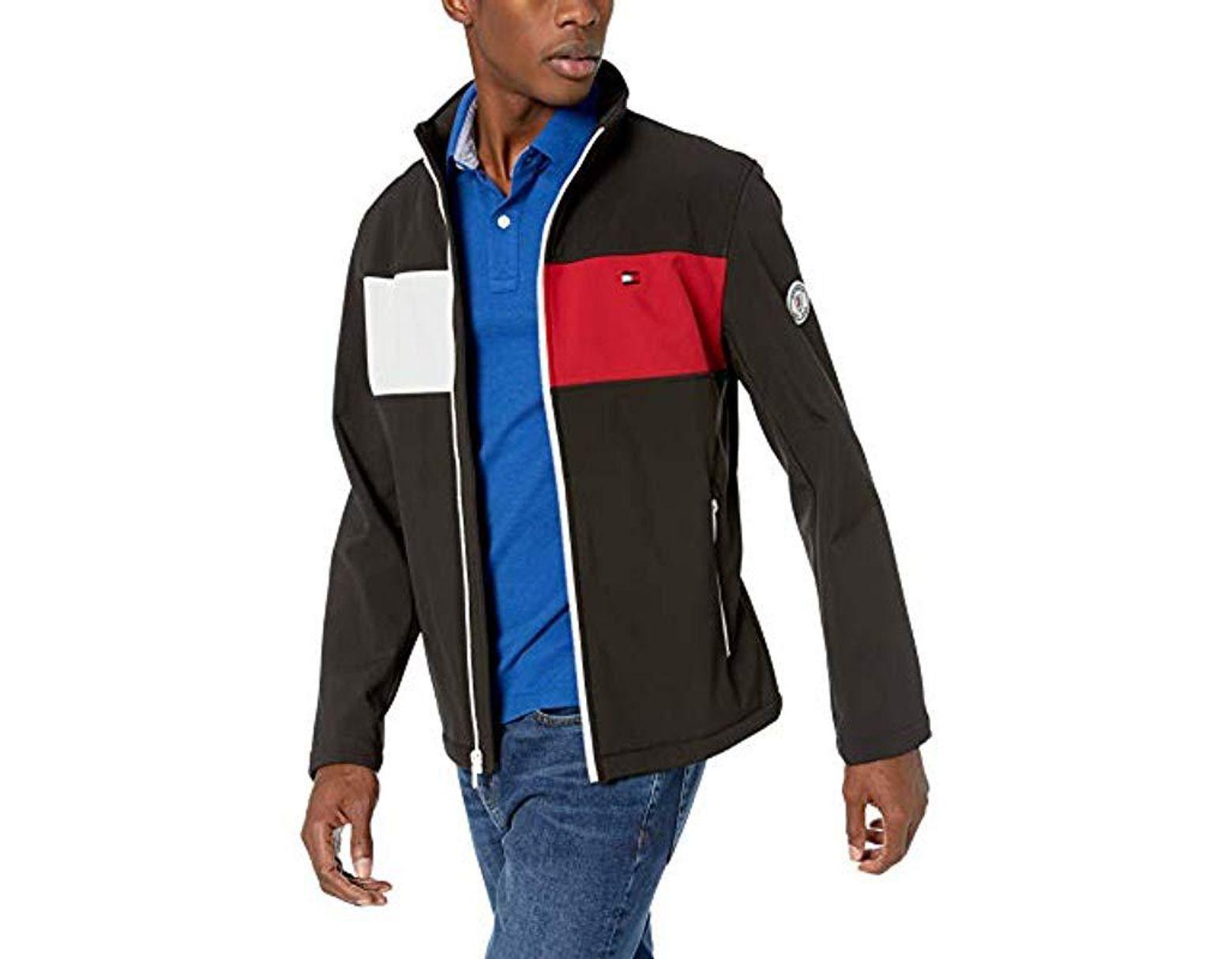 excellent quality great deals genuine shoes Men's Black Retro Sport Soft Shell Jacket