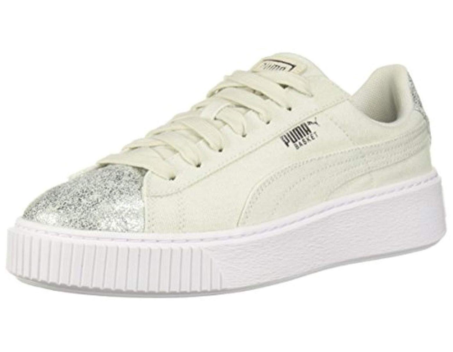 Platform Wn Basket Women's Canvas Sneaker qVpSGMzU