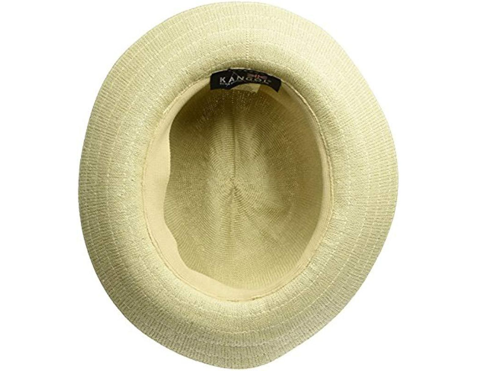 6232ed91e4f16 Kangol Bamboo Gent Fedora Hat in Natural for Men - Save 63% - Lyst