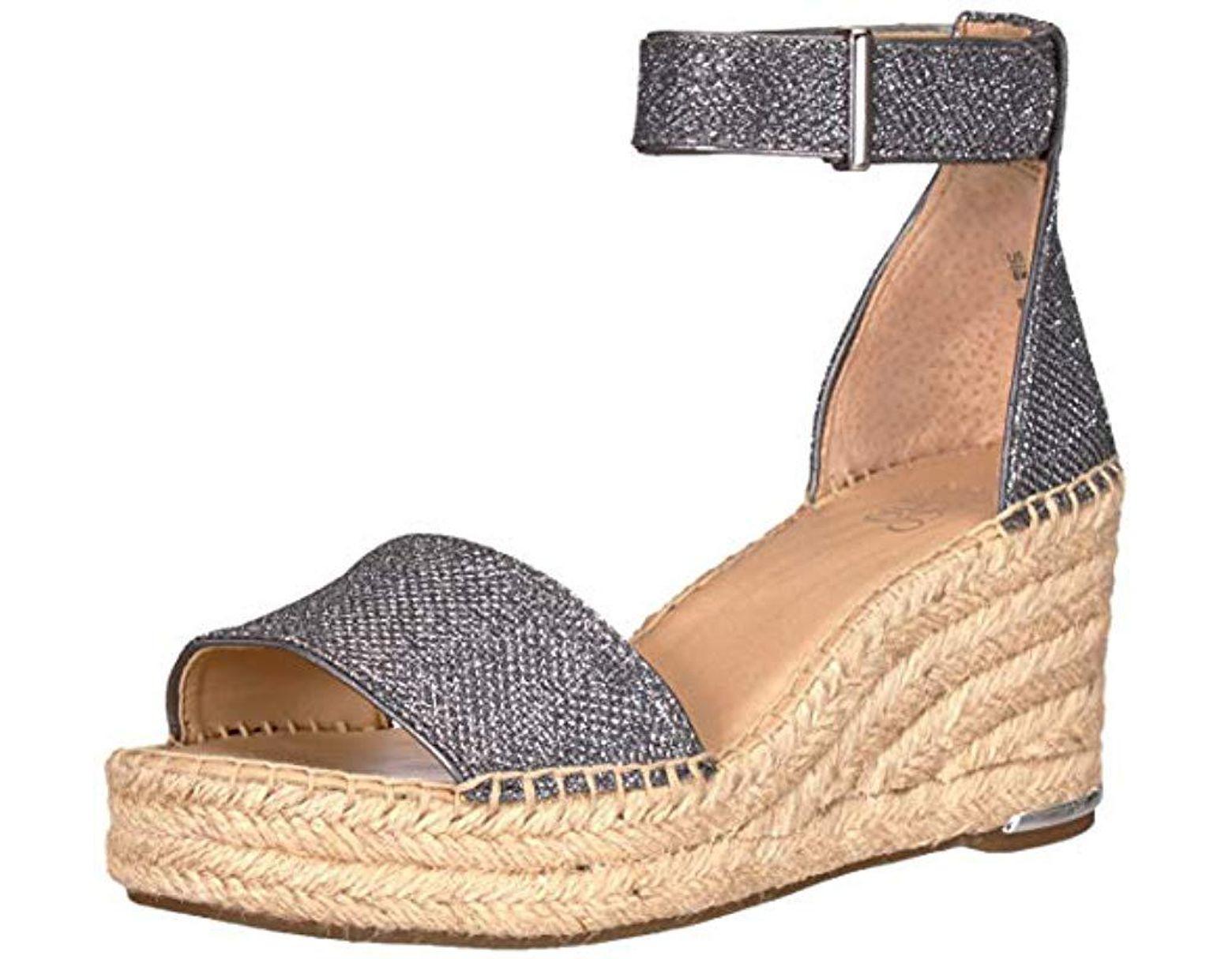 e5db33fb25d Women's Metallic Clemens Espadrille Wedge Sandal