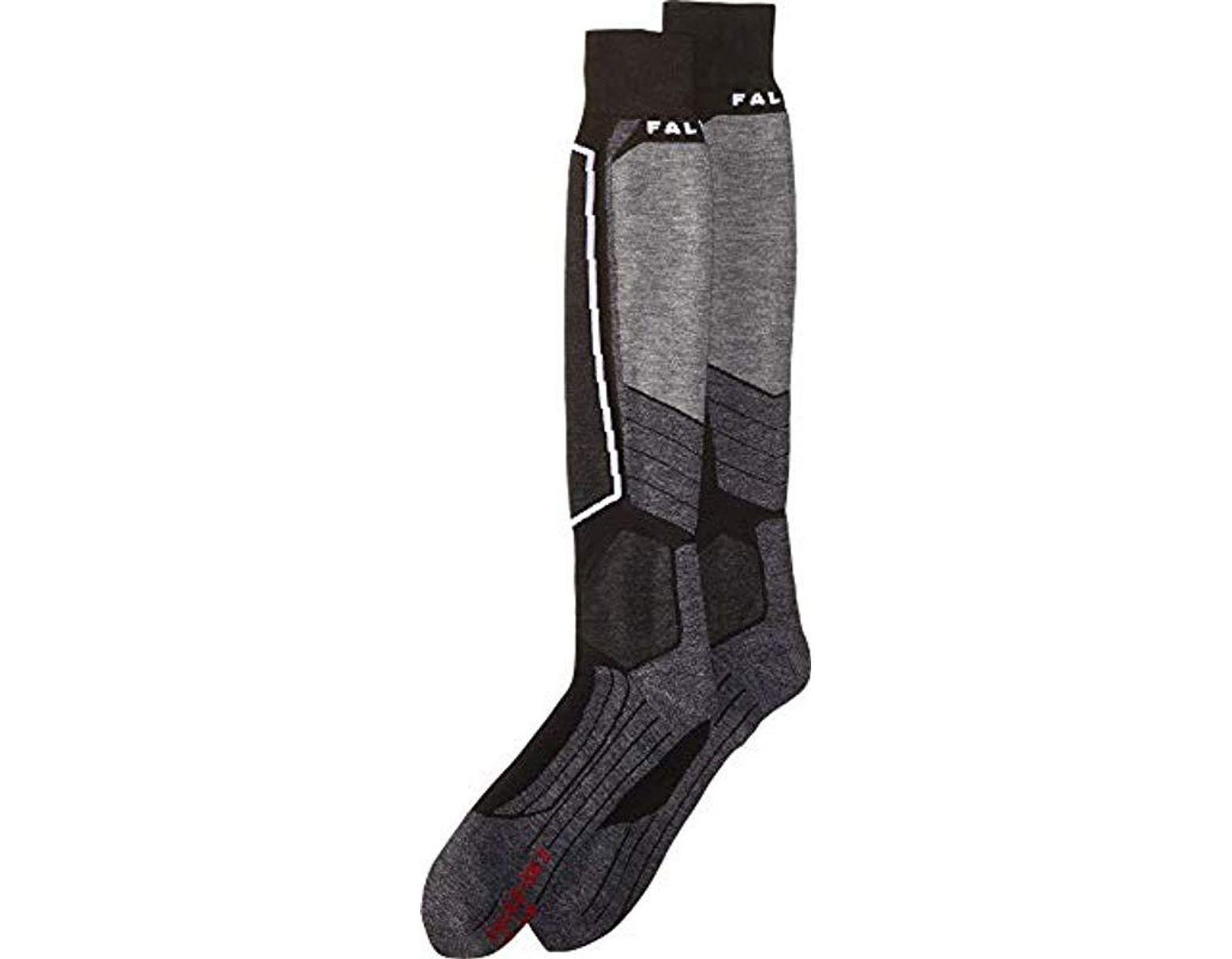 hoe te kopen verschillende ontwerpen kind Men's Black Sk2 Ski Sock-medium Padding-thermal Insulation