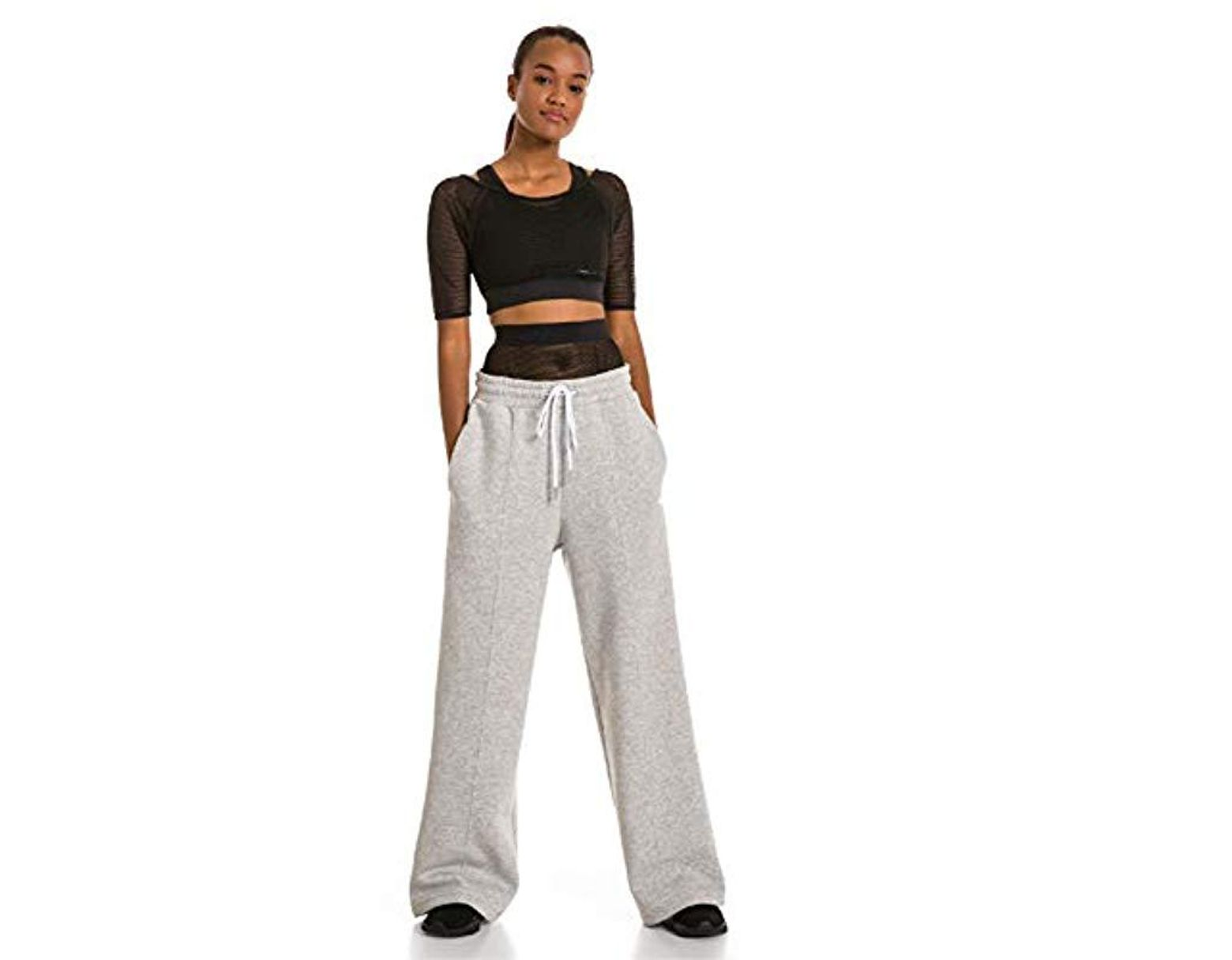 e58e47fa62c17 Women's Gray X Selena Gomez Sweatpants