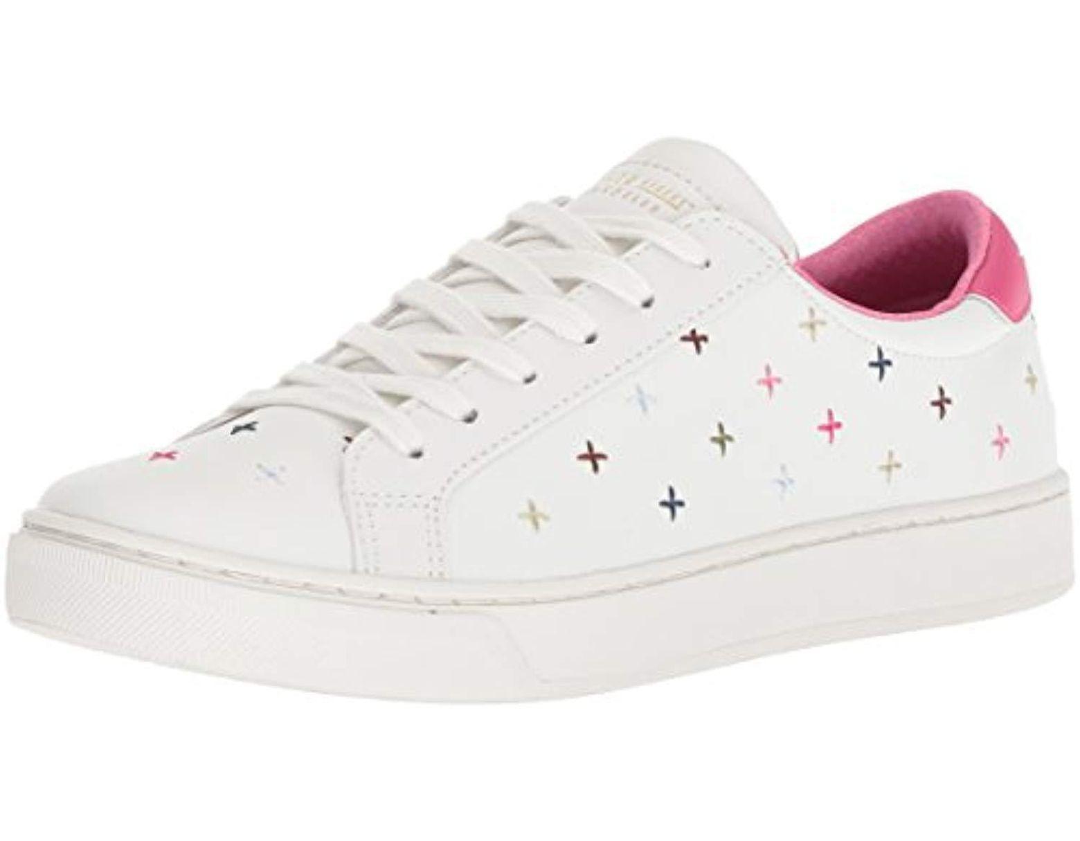 3abada906b418 Women's White Prima-embroidered Sneaker