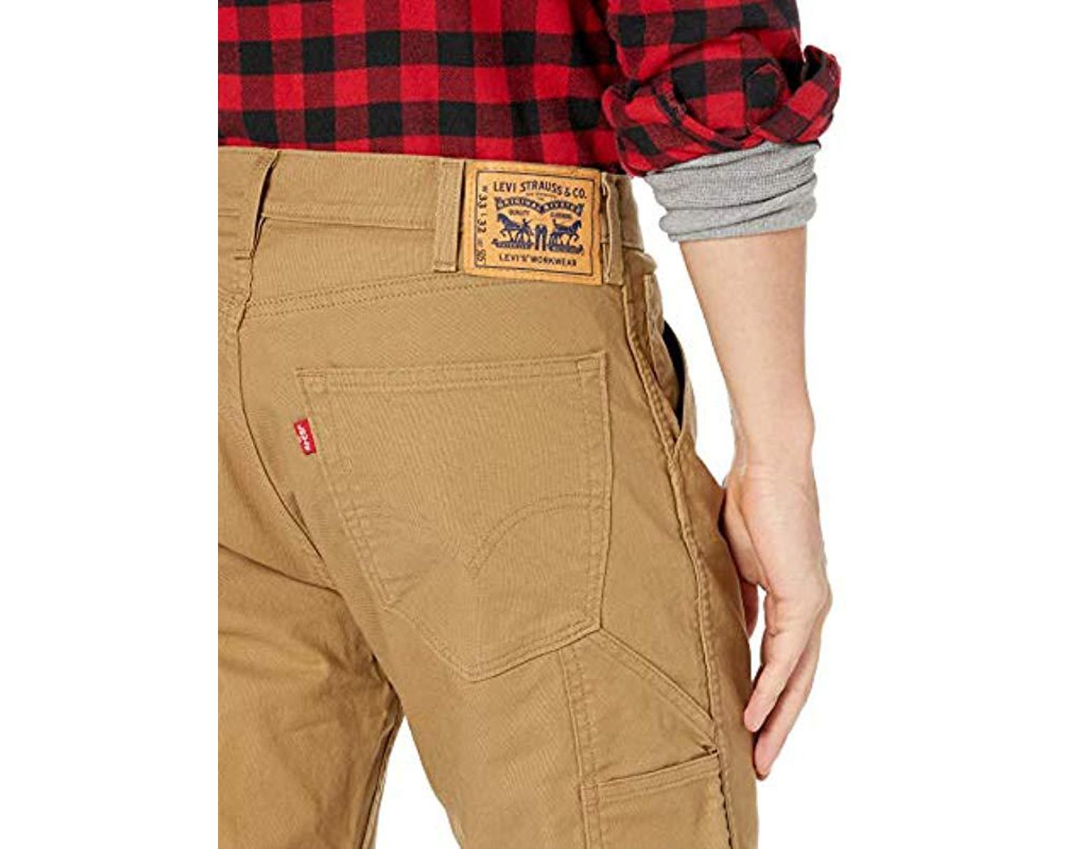 9e4aa0d281 Levi's Workwear 505 Regular Fit Utility Pant in Natural for Men - Lyst