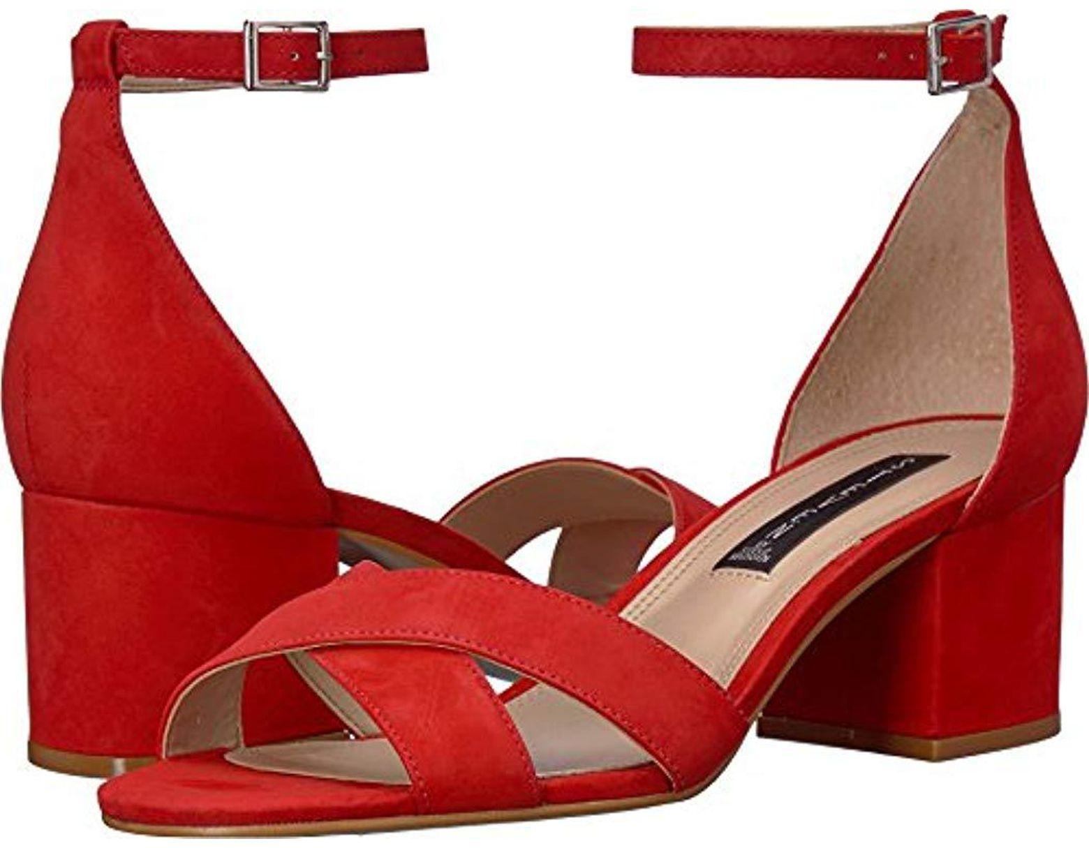 f40211f8f55a2 Women's Red Ilka Heeled Sandal