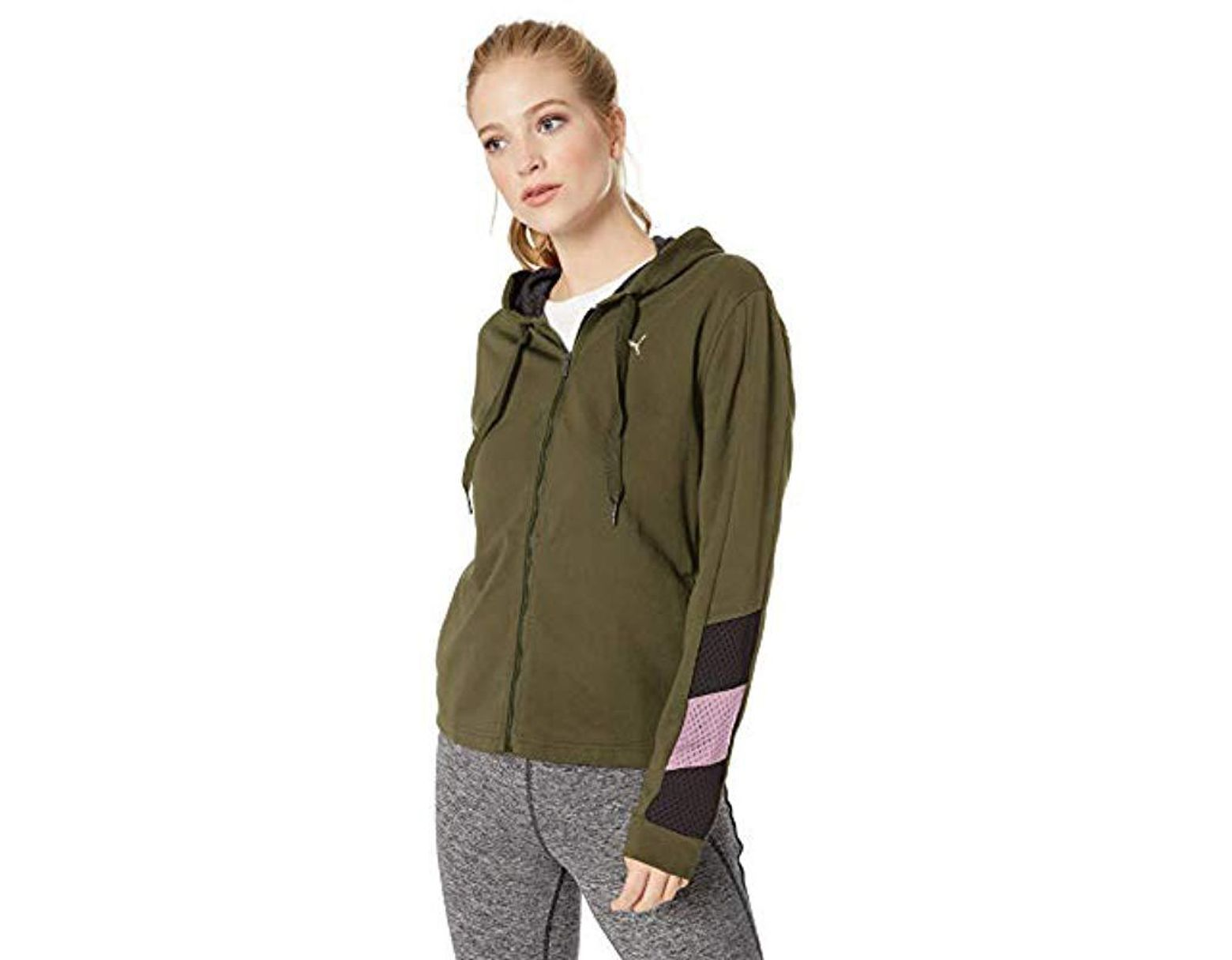 2c23a32f11fd4 Women's Green A.c.e. Sweat Jacket