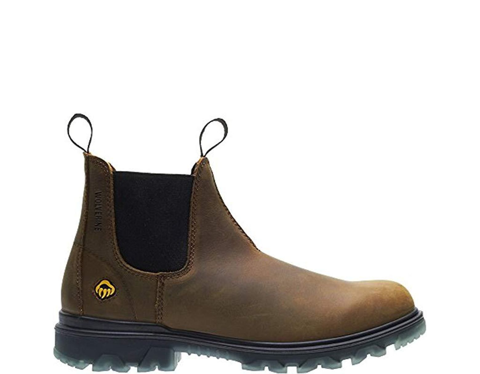 16c54080b67 Men's Brown I-90 Waterproof Soft-toe Romeo Slip-on Construction Boot