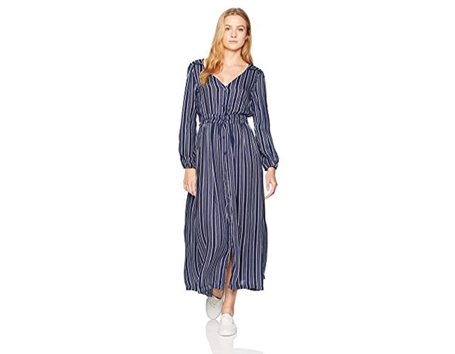 8a239fca502766 Roxy Subway Atmosphere Dress in Blue - Lyst