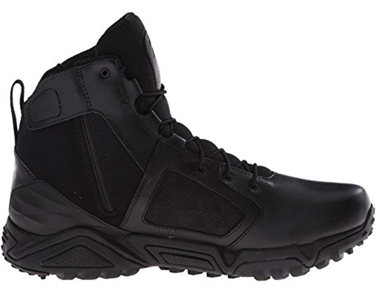 5ac85099c1d Men's Black Tac Zip 2.0 Military And Tactical Boot