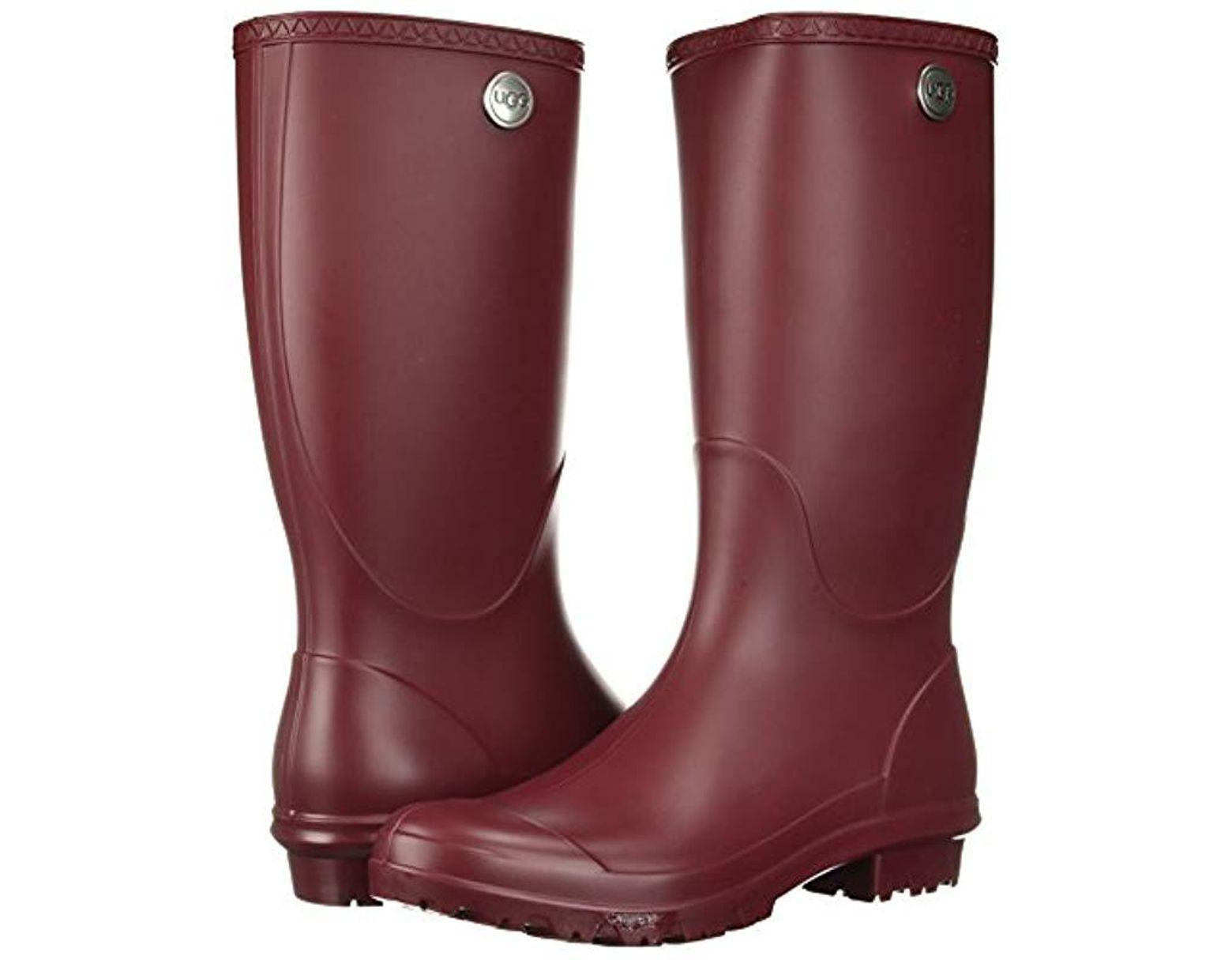 55a38e7bede Women's Red Shelby Matte Rain Boots