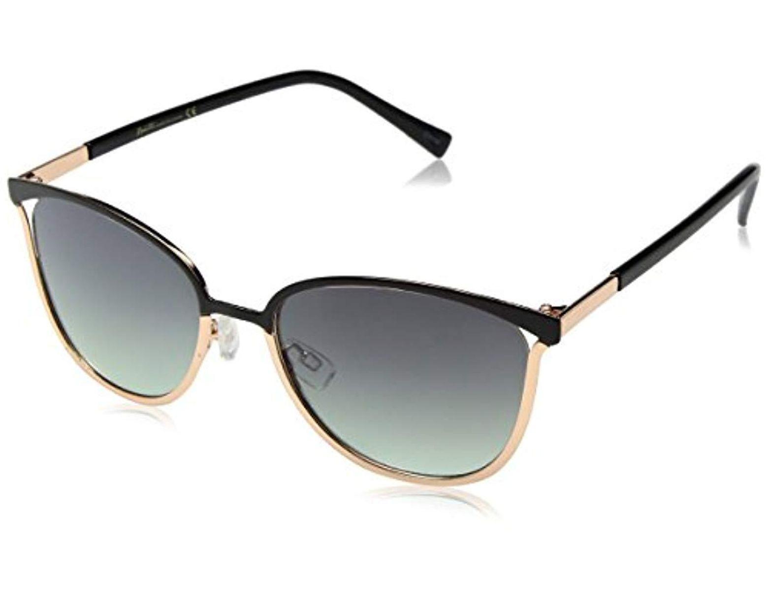 a7e4981f4 Nanette Nanette Lepore Nanette By Nanette Lepore Nn219 Oxrgd Cateye  Sunglasses, Black/rose Gold, 55 Mm in Black - Save 6% - Lyst