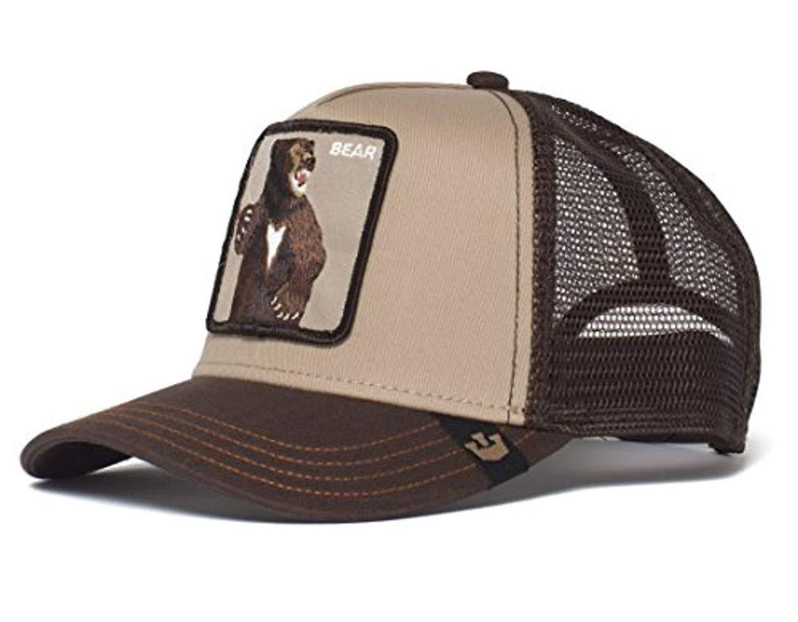 fe04f6122 Men's Brown Animal Farm Snap Back Trucker Hat