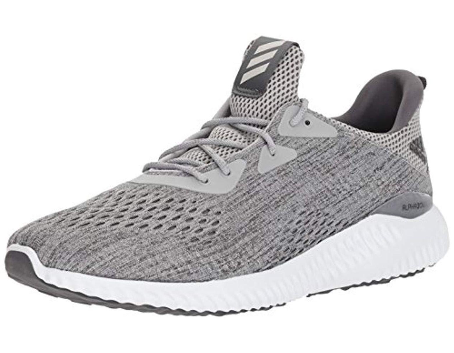 47e16a521664 Men's Gray Alphabounce Em M Running Shoe