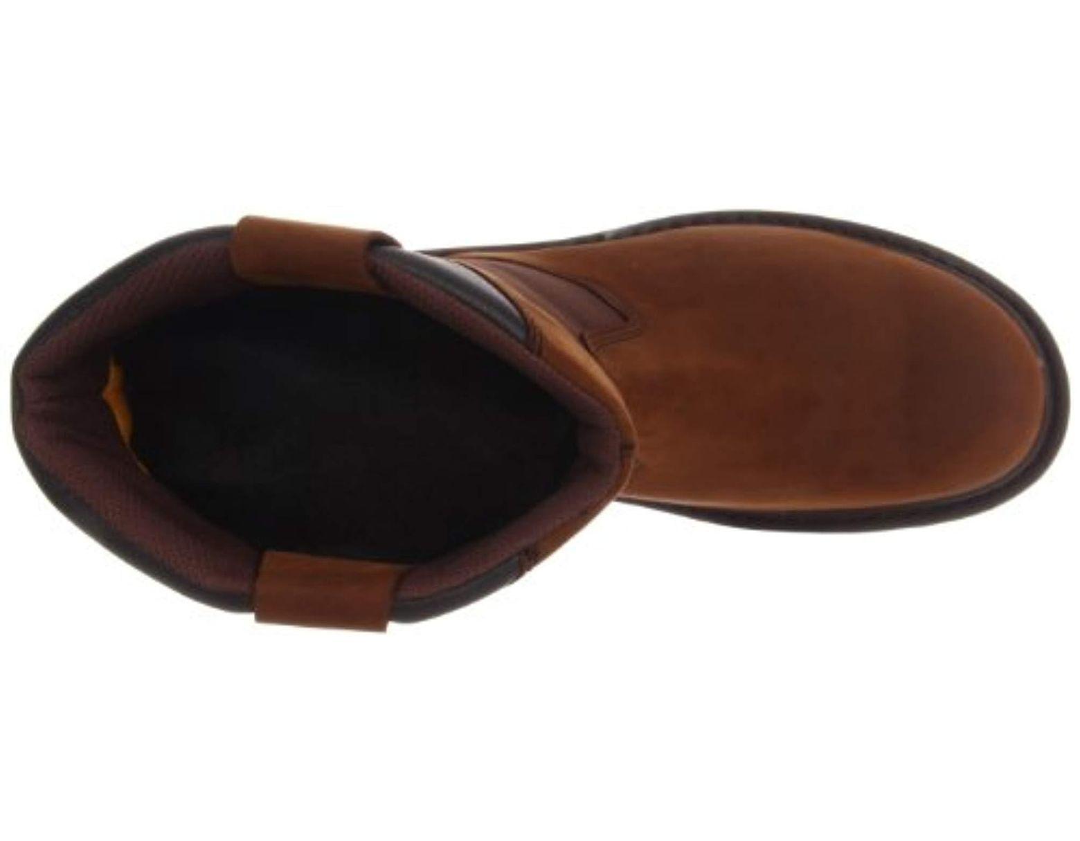 6083850d01d Men's Brown Grist Waterproof Steel Toe Work Boot