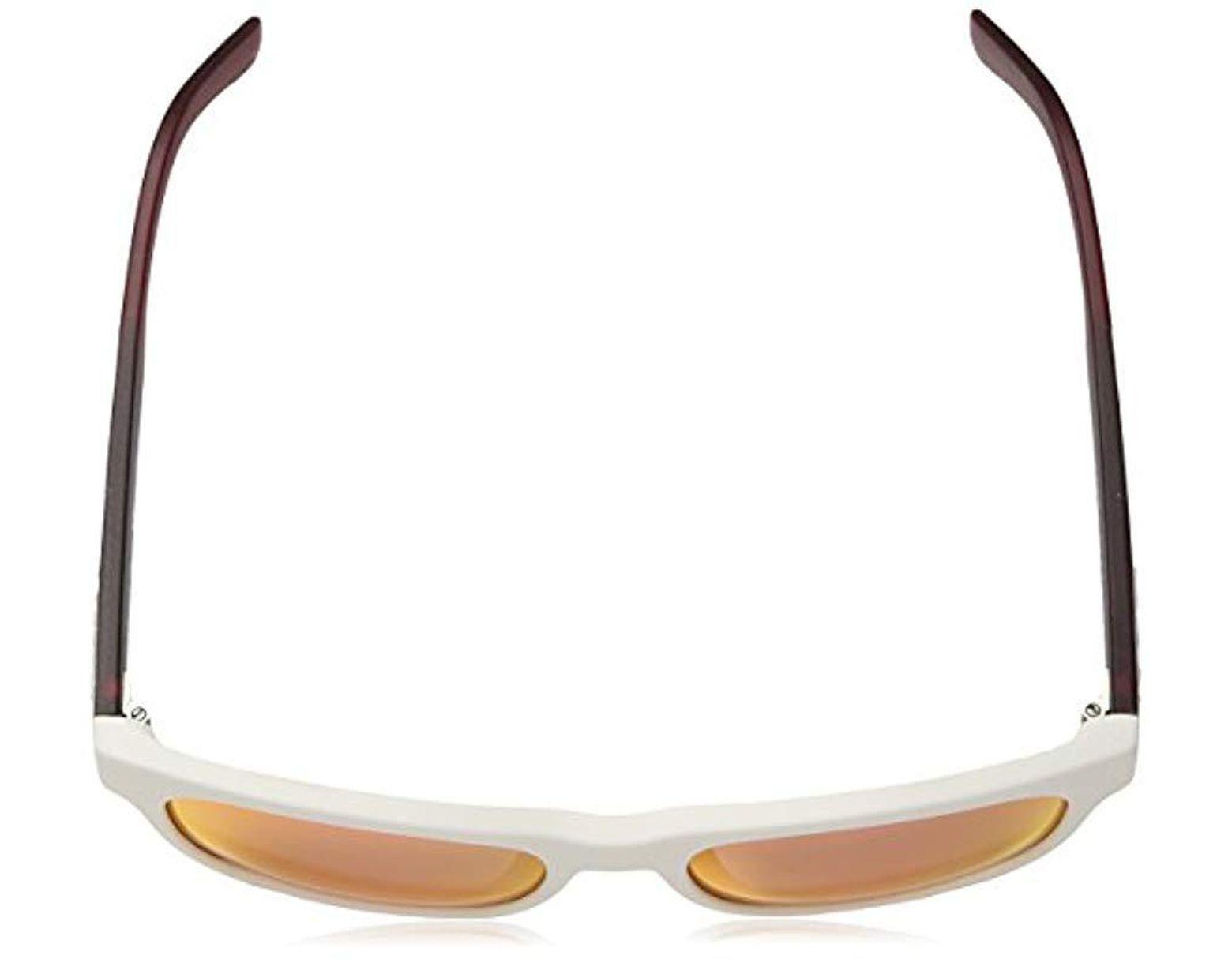 1b96adaf18ac0 Women's L829snd Plastic Rectangular Novak Djokovic Capsule Collection  Sunglasses, White, 54 Mm