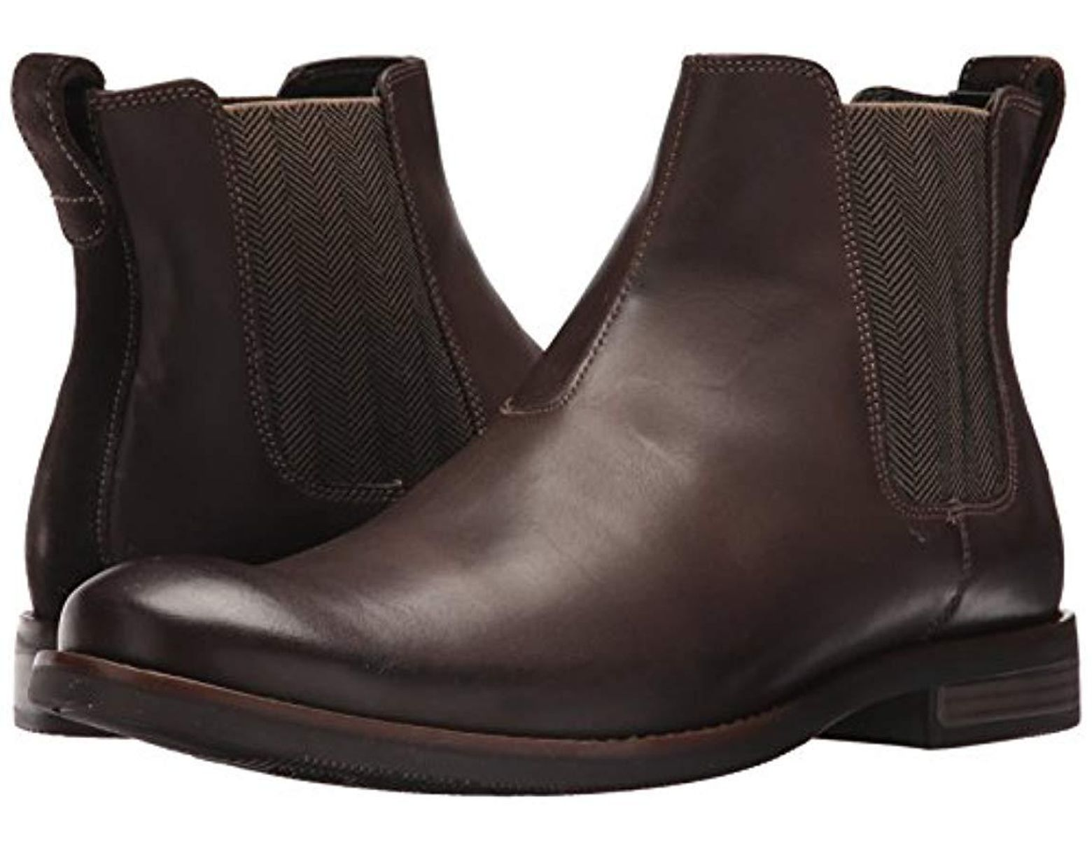 Rockport Wynstin Chelsea Chelsea Boot in Brown for Men Save Lyst