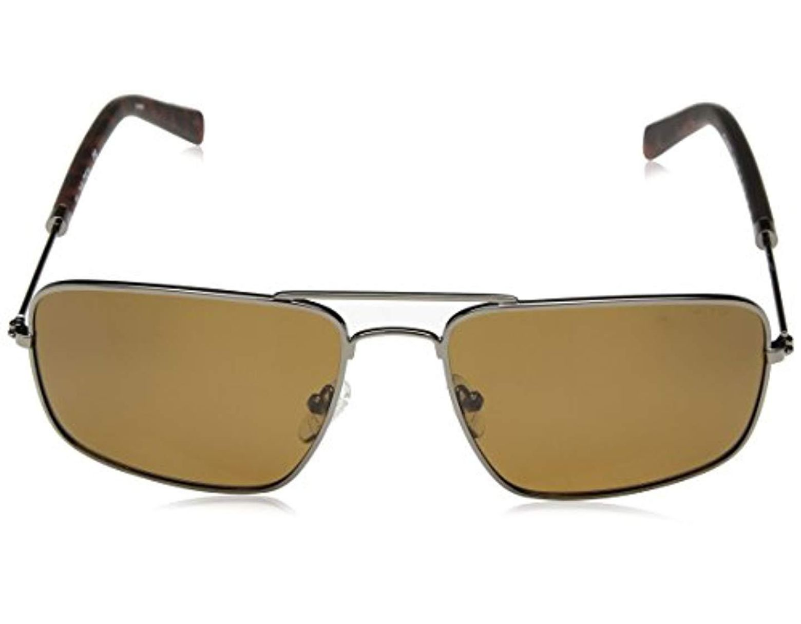 94e755d6 Men's N4632sp Polarized Aviator Sunglasses, Gunmetal, 59 Mm