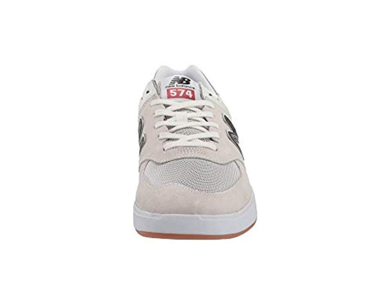 lowest price 58bca 541c4 New Balance Am574 in White for Men - Lyst