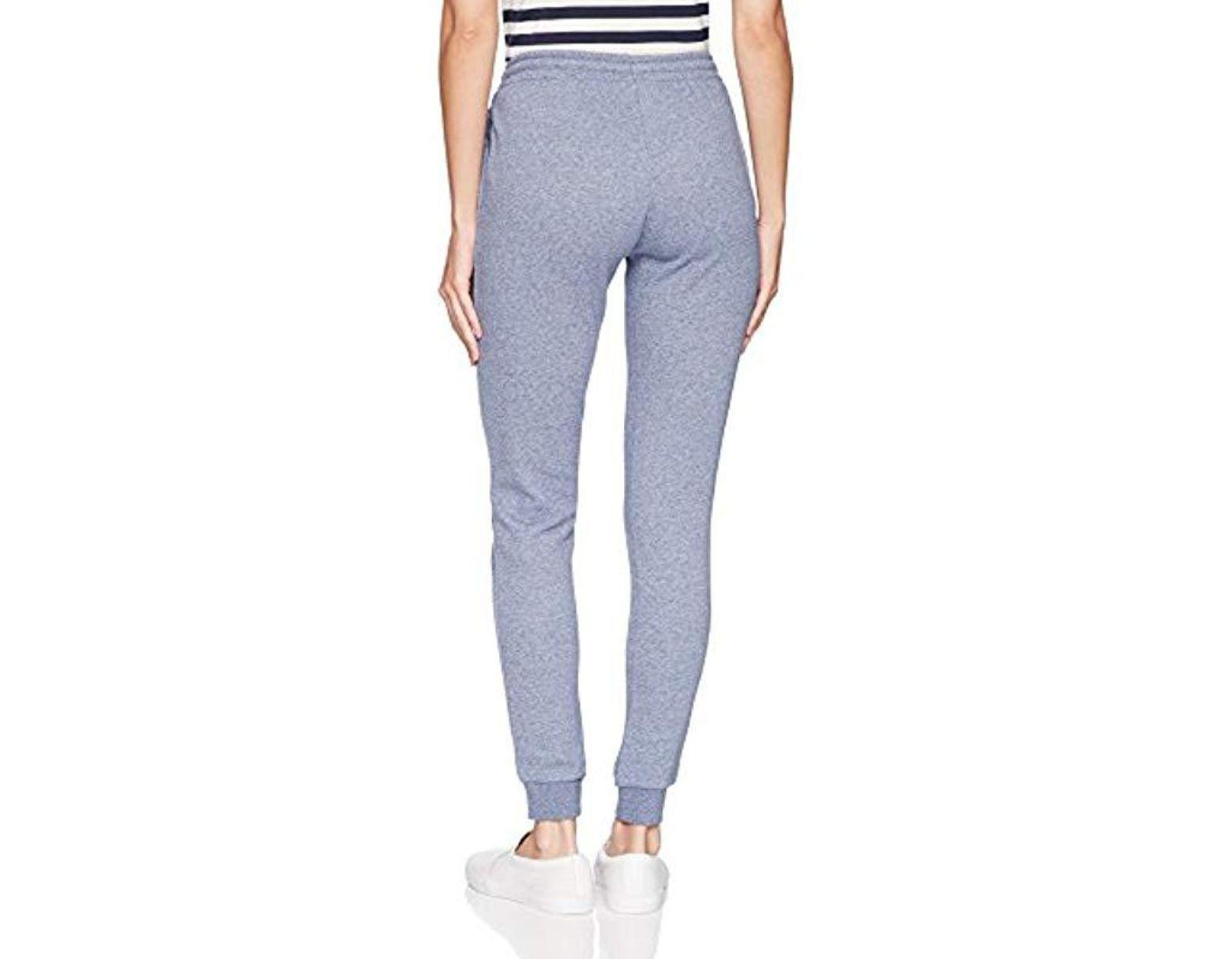 5a5c903a2e Women's Blue Sport Tennis Fleece Trackpants