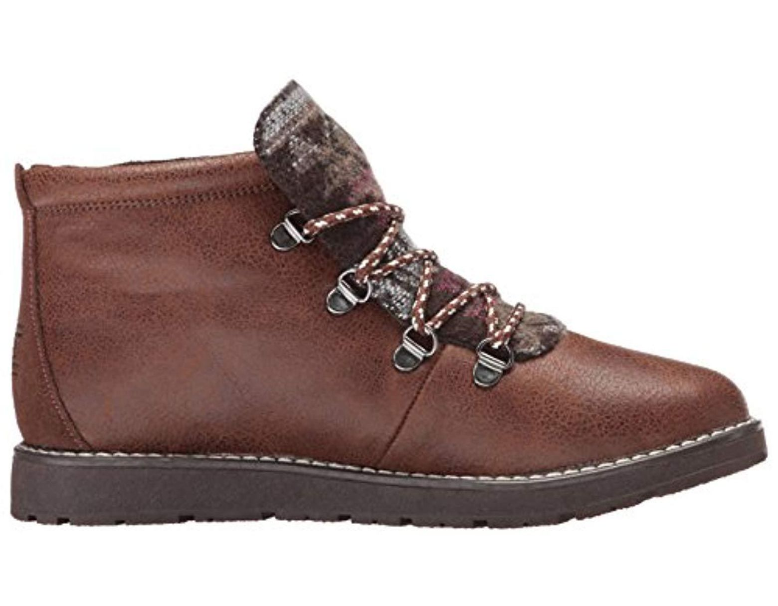 d0ef36eabcd3c Women's Brown Bobs Bobs Alpine-keep Trekking. Aztec Tongue Hiking Boot W  Memory Foam