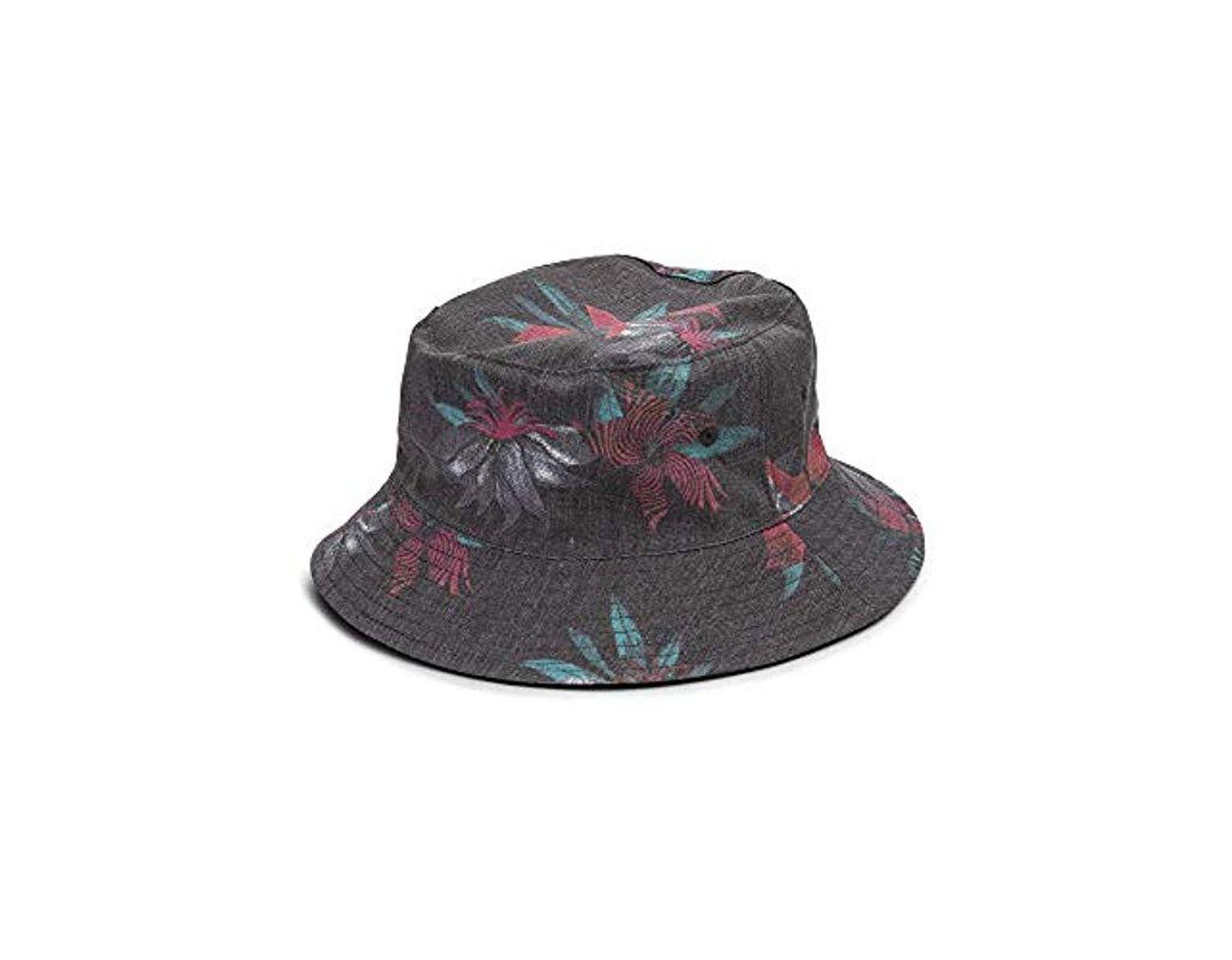 1ec1d8683 Men's Black Verano Stone 3 Panel Bucket Hat