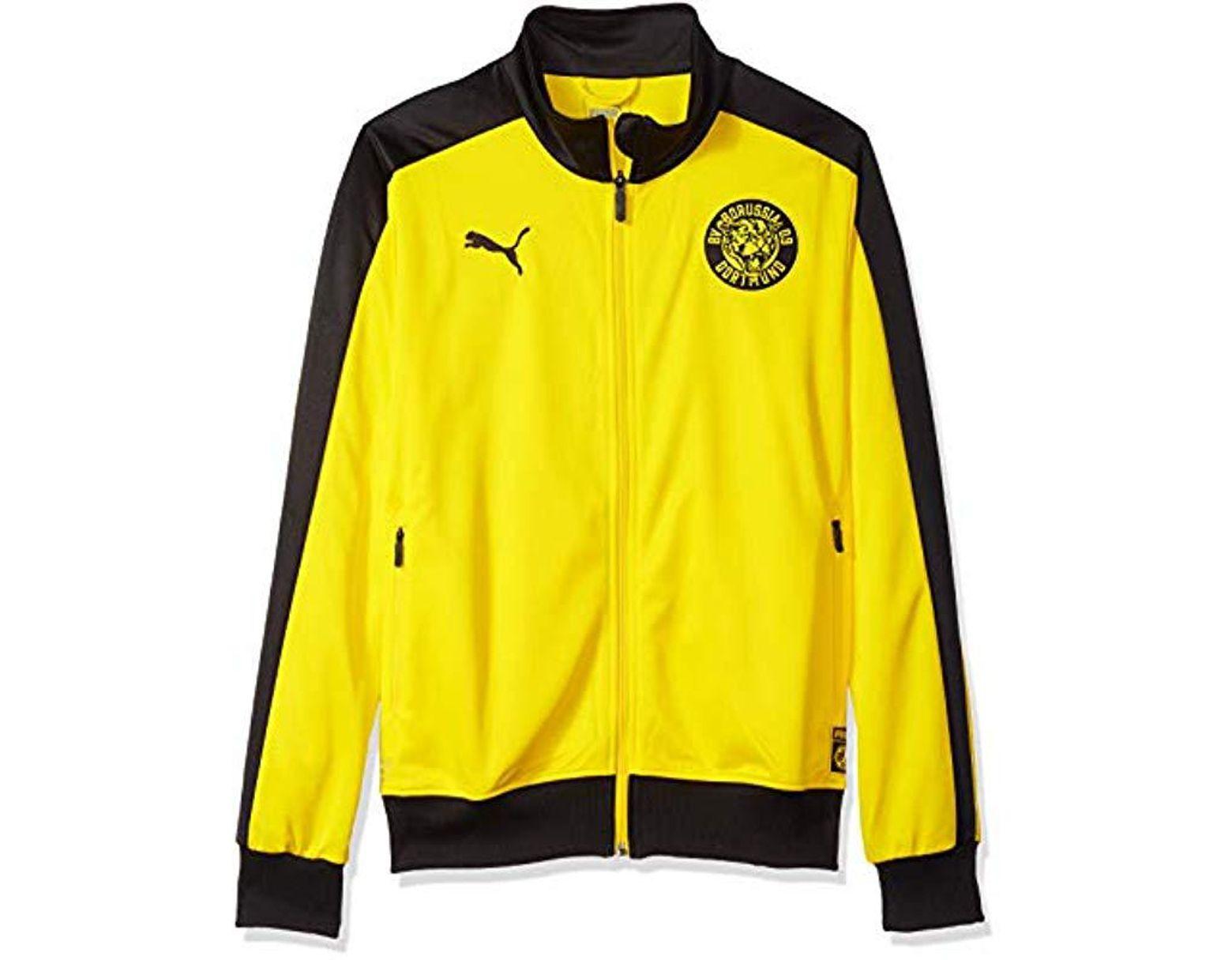 284751004207c Men's Yellow Bvb T7 Track Jacket