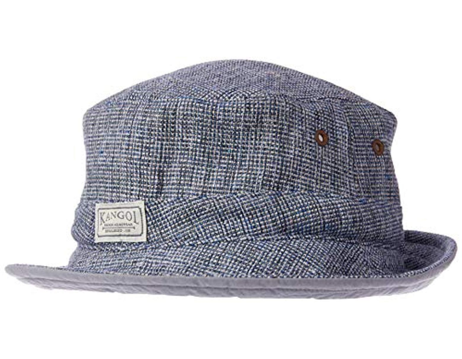 e8217f12 Kangol Oxford Spay Hat in Blue for Men - Save 8% - Lyst