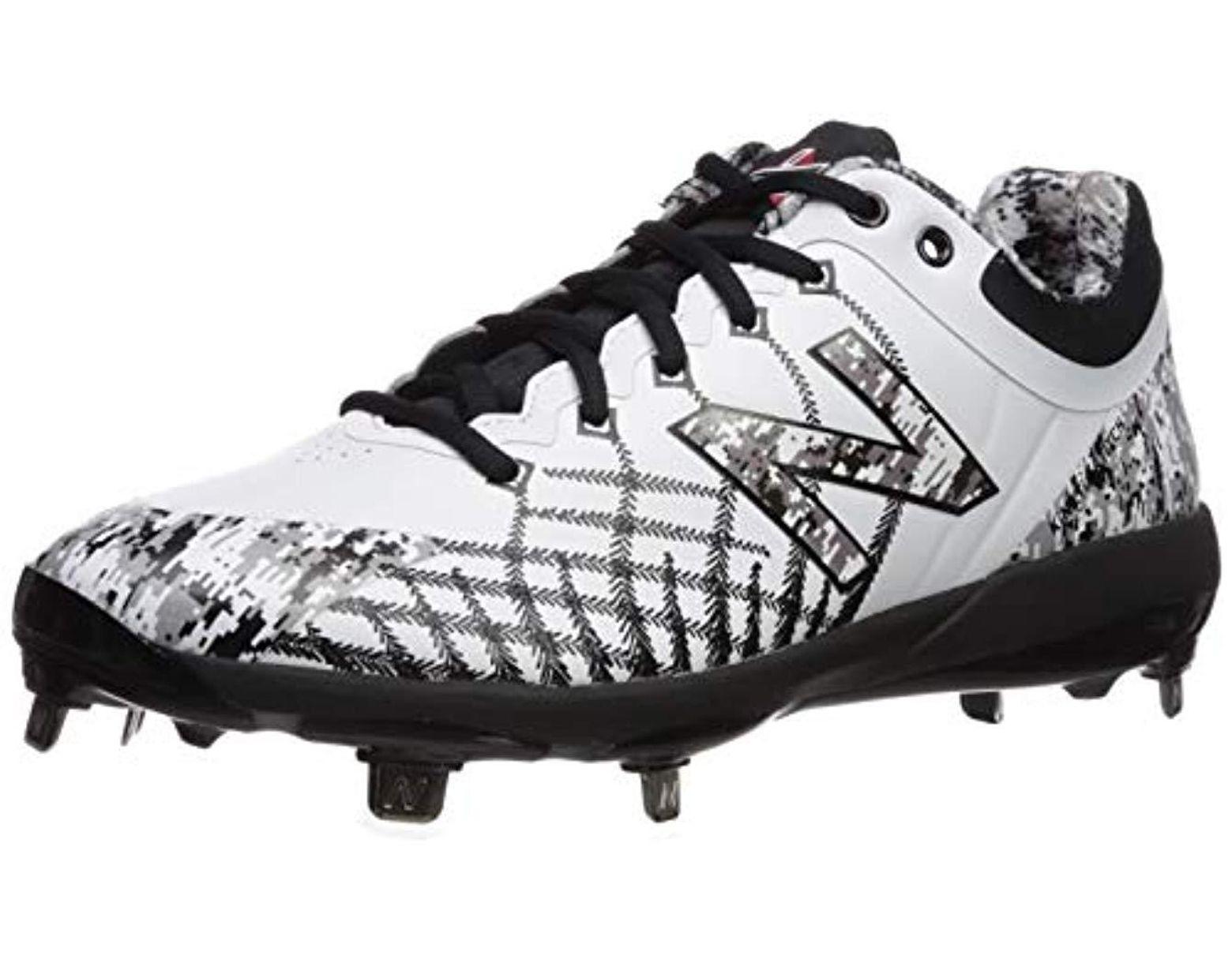 596d4baf29 New Balance - 4040v5 Metal Baseball Shoe, Pedroia White/camo, 7.5 Xw Us for  Men - Lyst