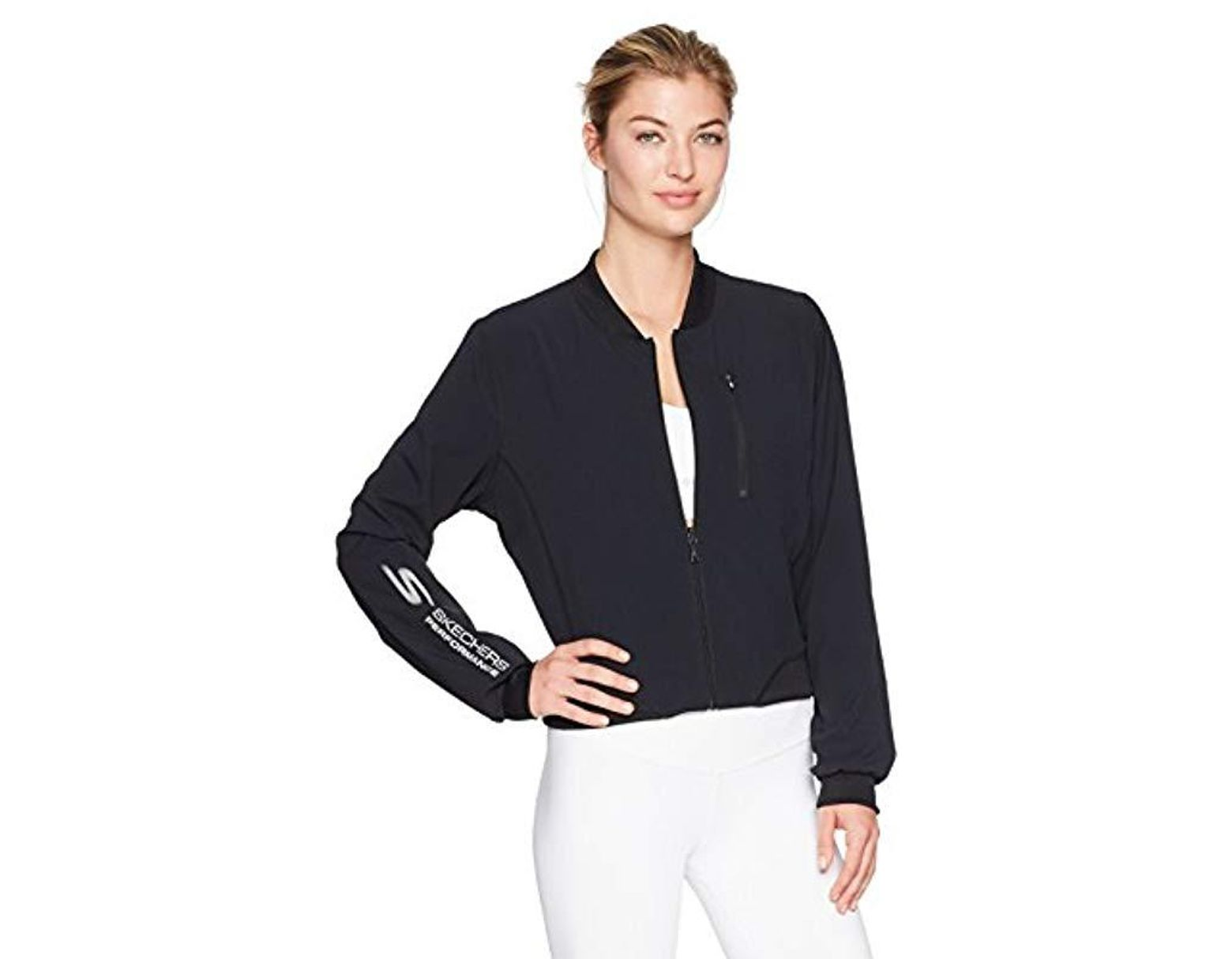 a5be011eb Women's Black Ash Reversible Bomber Full Zip Jacket