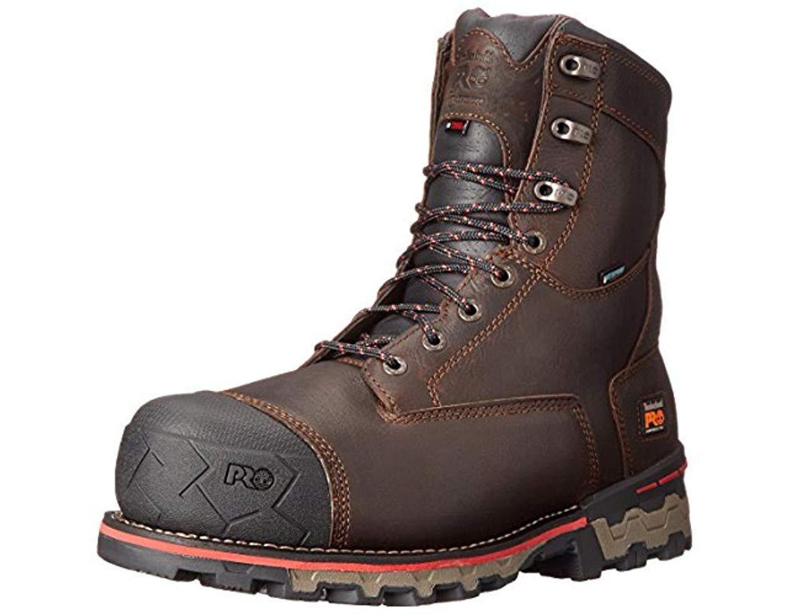 444e6ba51d7 Men's Brown 8 Boondock 1000g Composite Safety Toe Waterproof Insulated