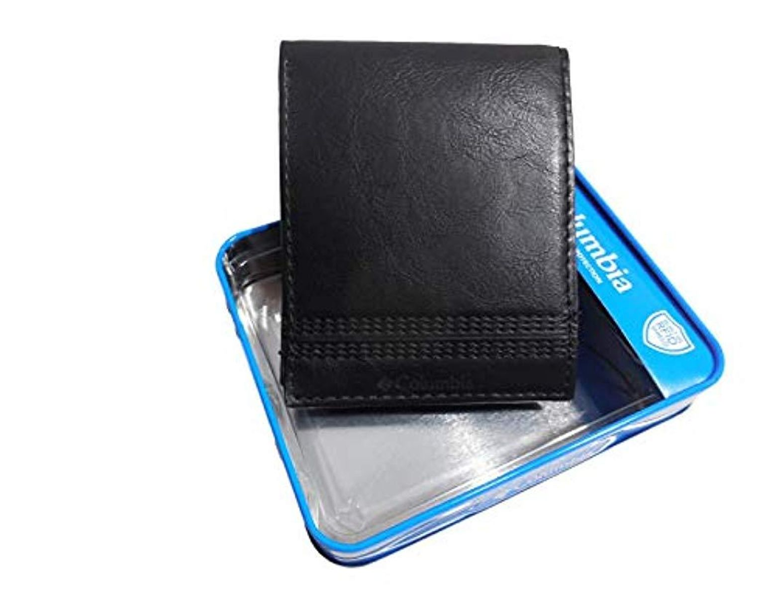 Columbia Men/'S Rfid Blocking Nylon Trifold Wallet Men Accessories Cards Wallets