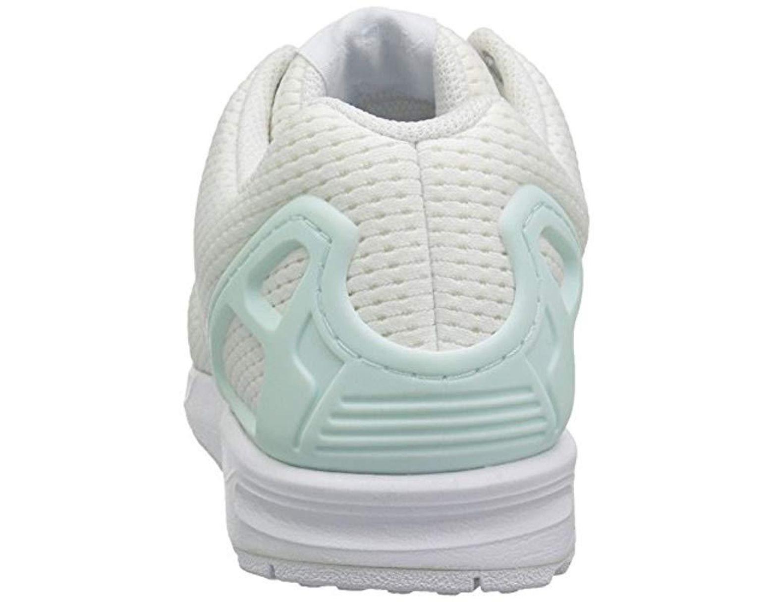 fcac8977a Lyst - adidas Originals Zx Flux W Running Shoe in White