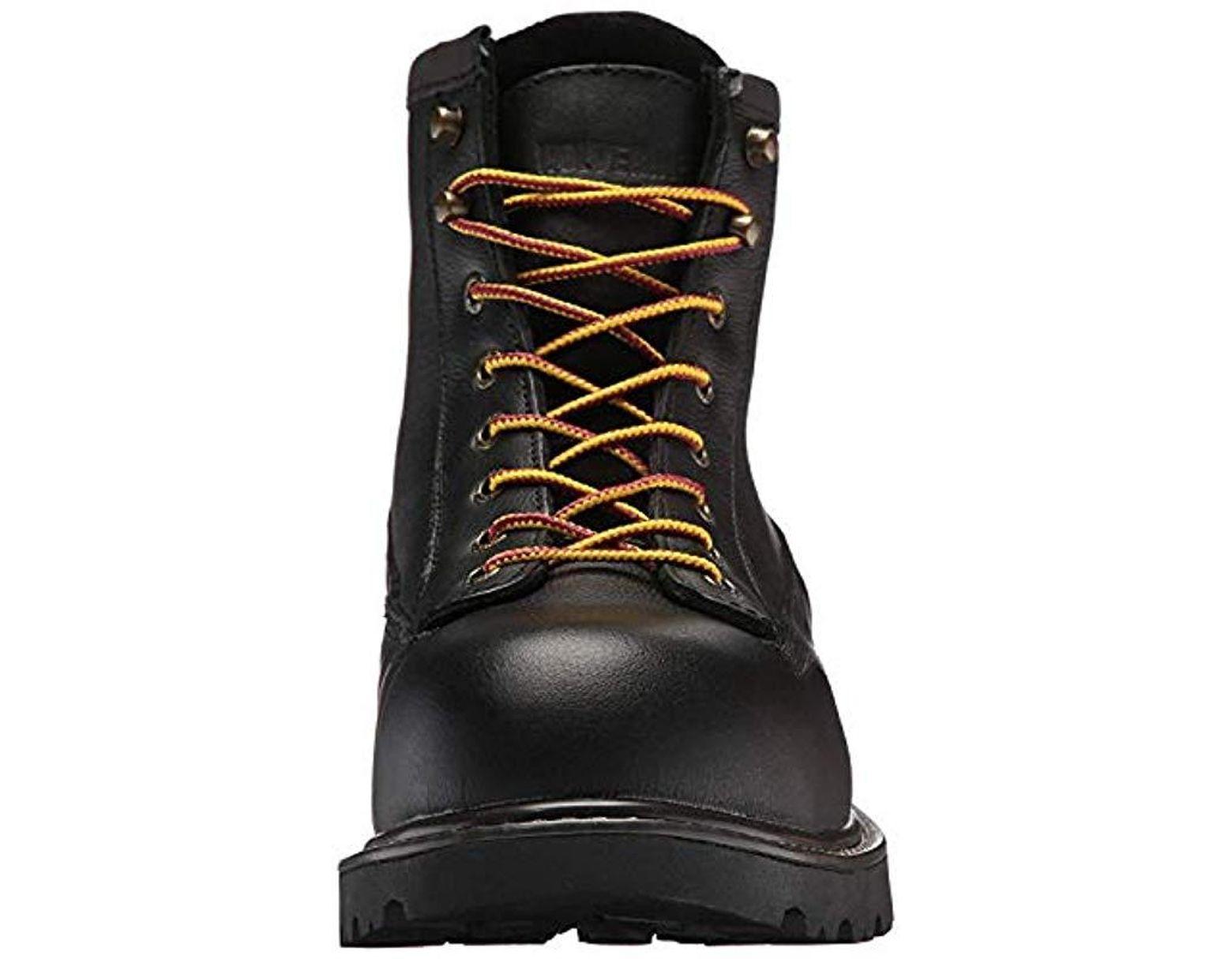 b51223ac0be Men's Black Floorhand Ii Waterproof Steel-toe 6