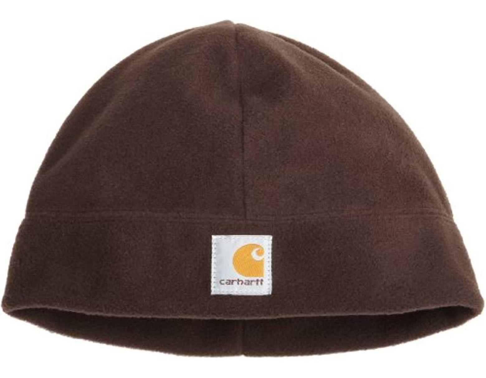 3f94924969cd7 Carhartt Fleece Hat in Brown for Men - Save 7% - Lyst