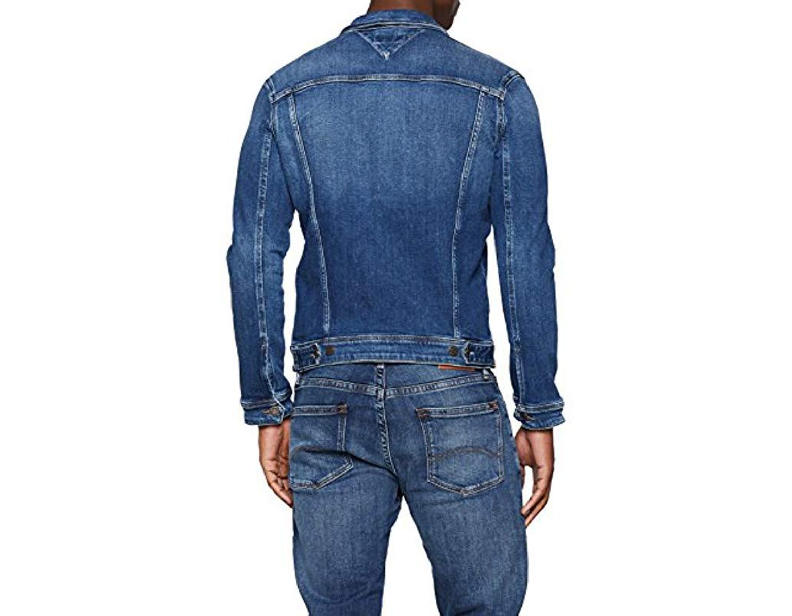 601e946a Tommy Hilfiger Jean Jacket Classic Denim Trucker in Blue for Men - Lyst