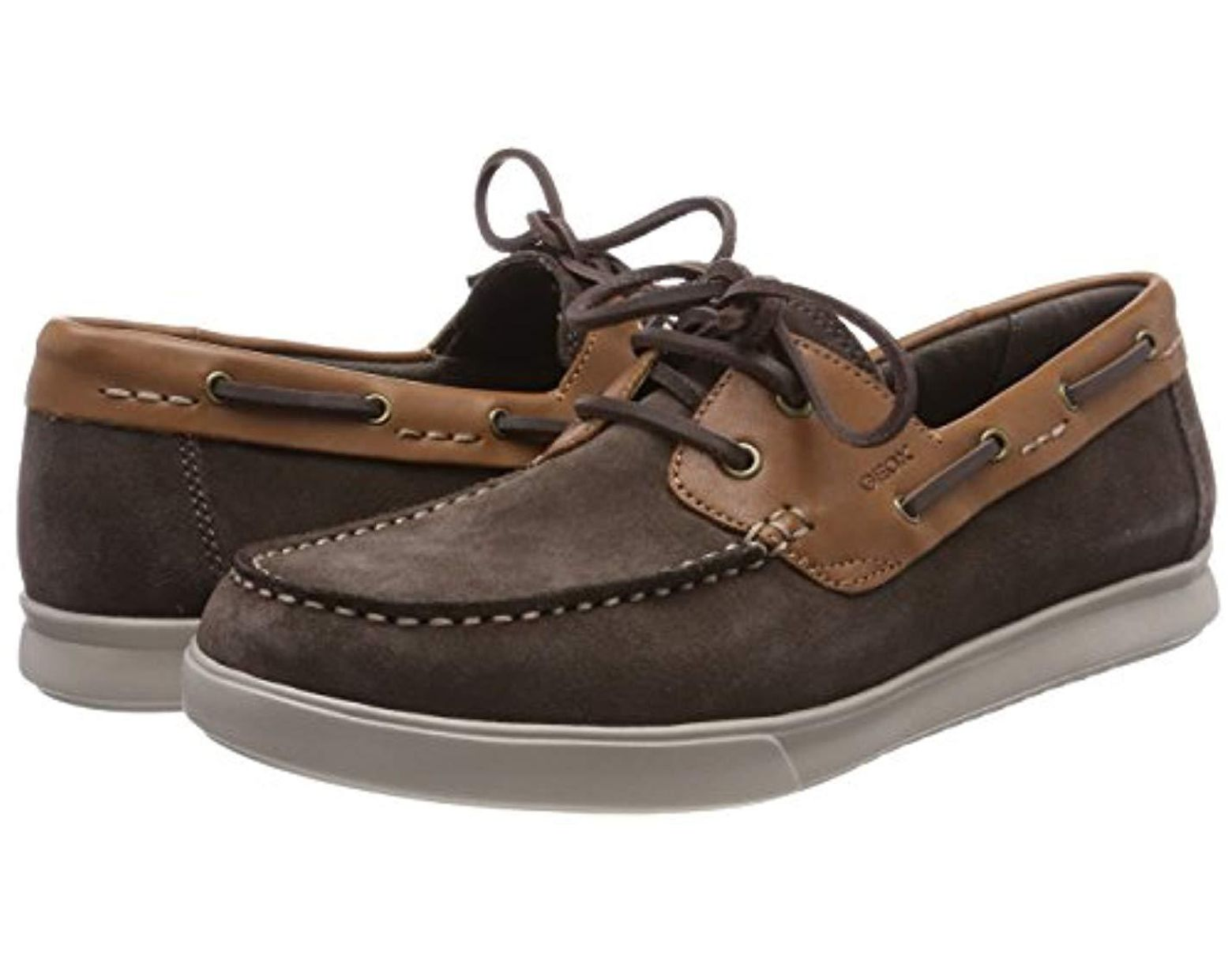 U Shoes Boat D Men's Brown Walee nOk0w8P
