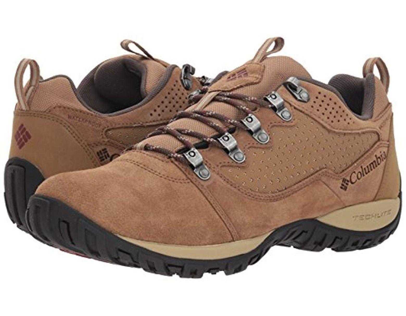 205f77cdb Men's Brown Peakfreak Venture Low Suede Wp Rise Hiking Boots