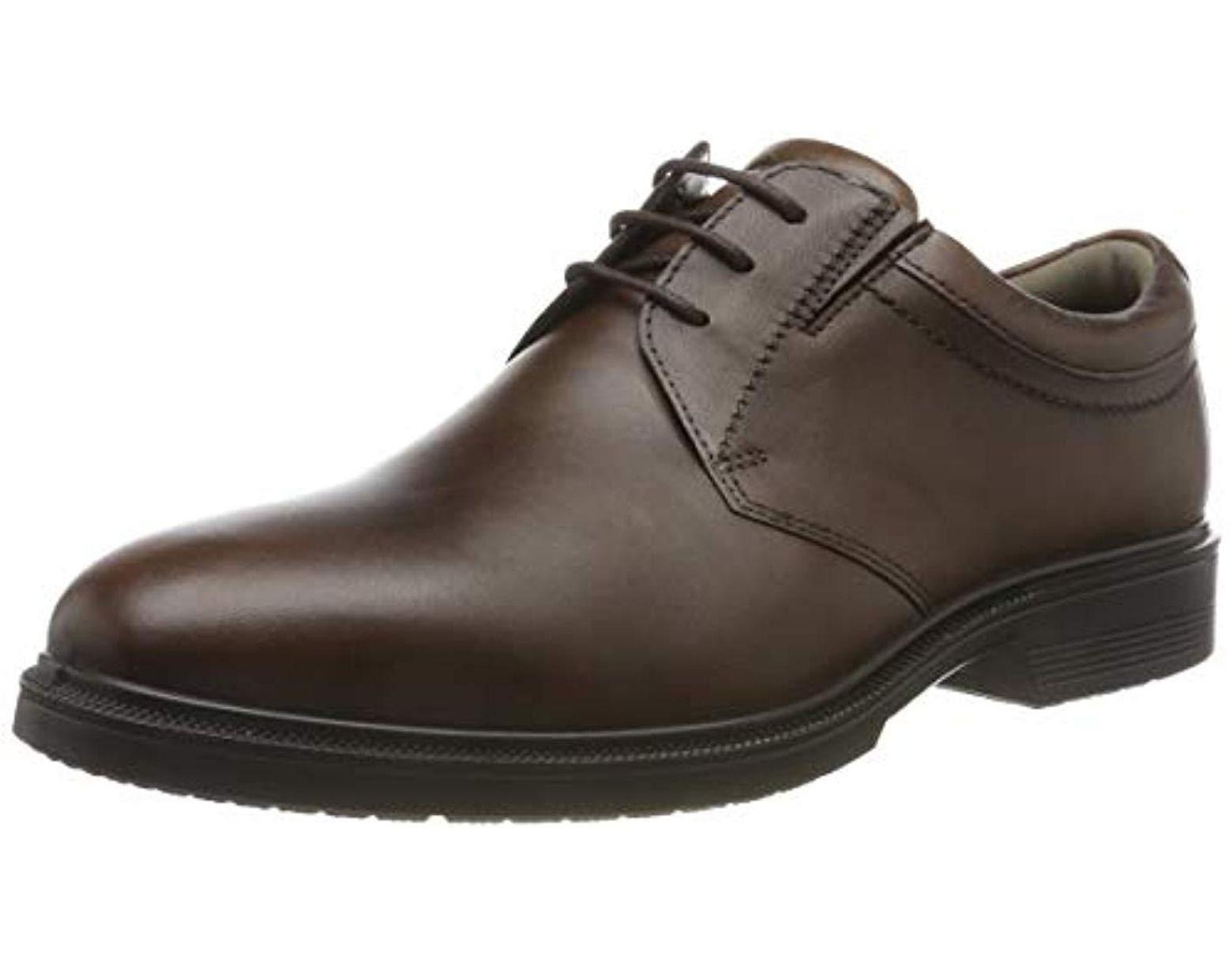 ECCO Lisbon Santiago 622104 Men's Lace up Formal Shoes in Black