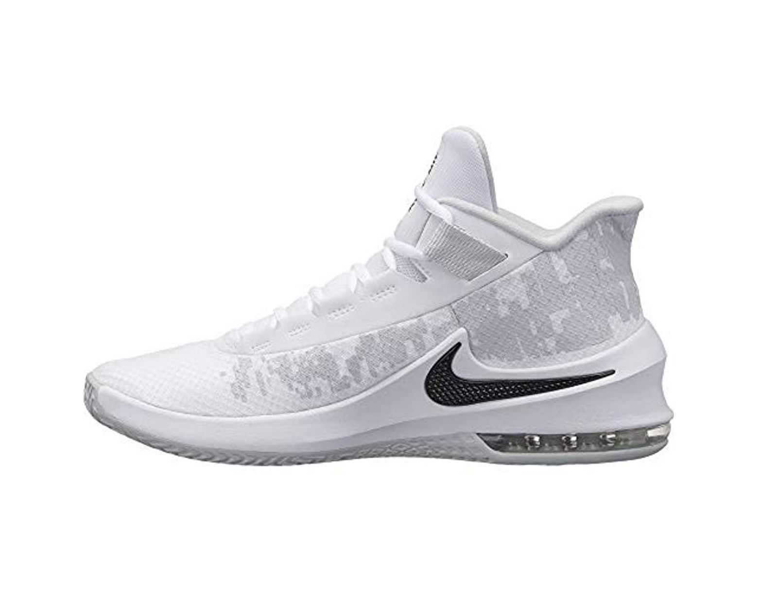 500b362c9fc46 Nike Air Max Infuriate 2 Mid Fitness Shoes in White for Men - Lyst