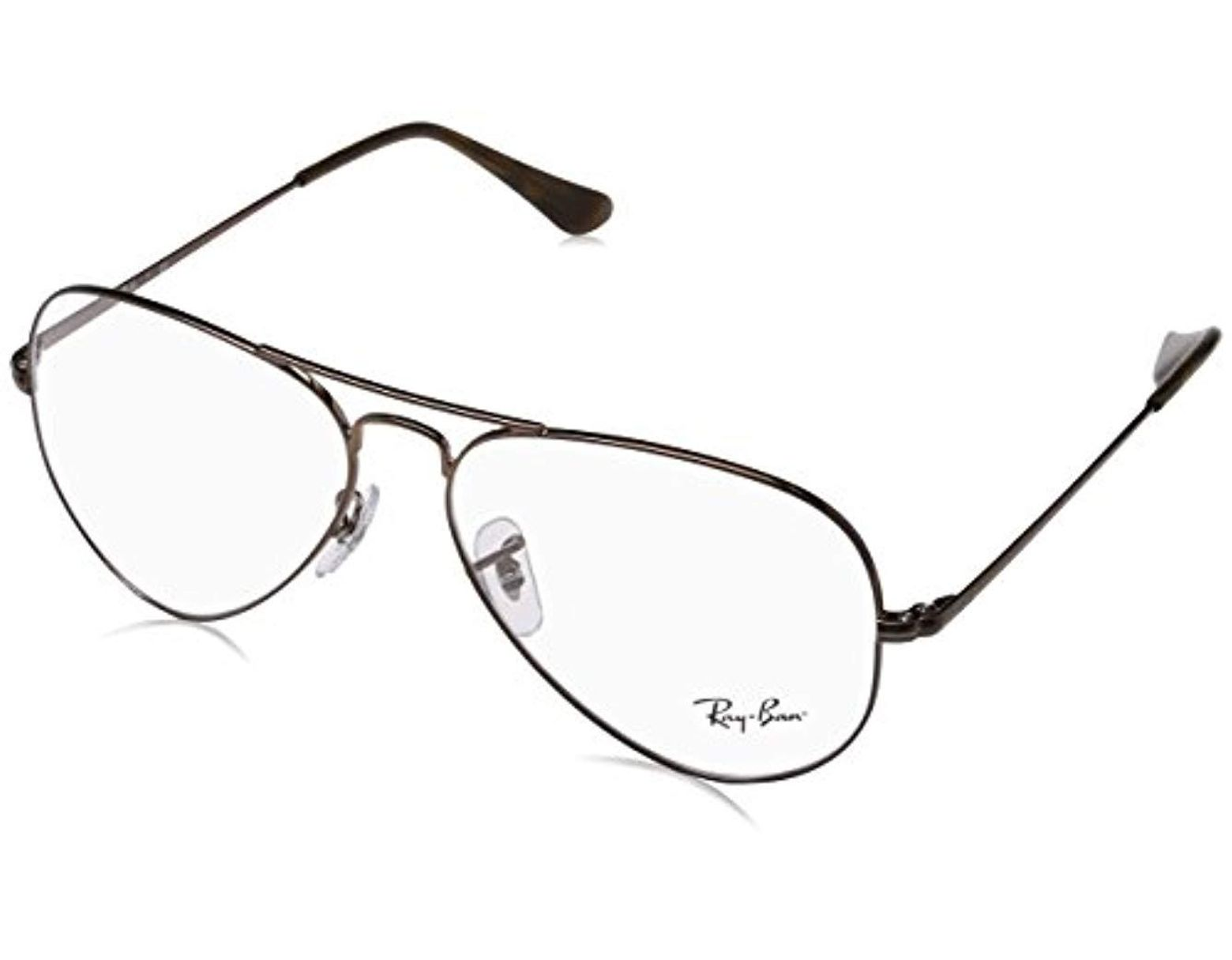 e08395e32718 Ray-Ban 0rx 6489 2531 58 Optical Frames, (light Brown) in Brown - Lyst